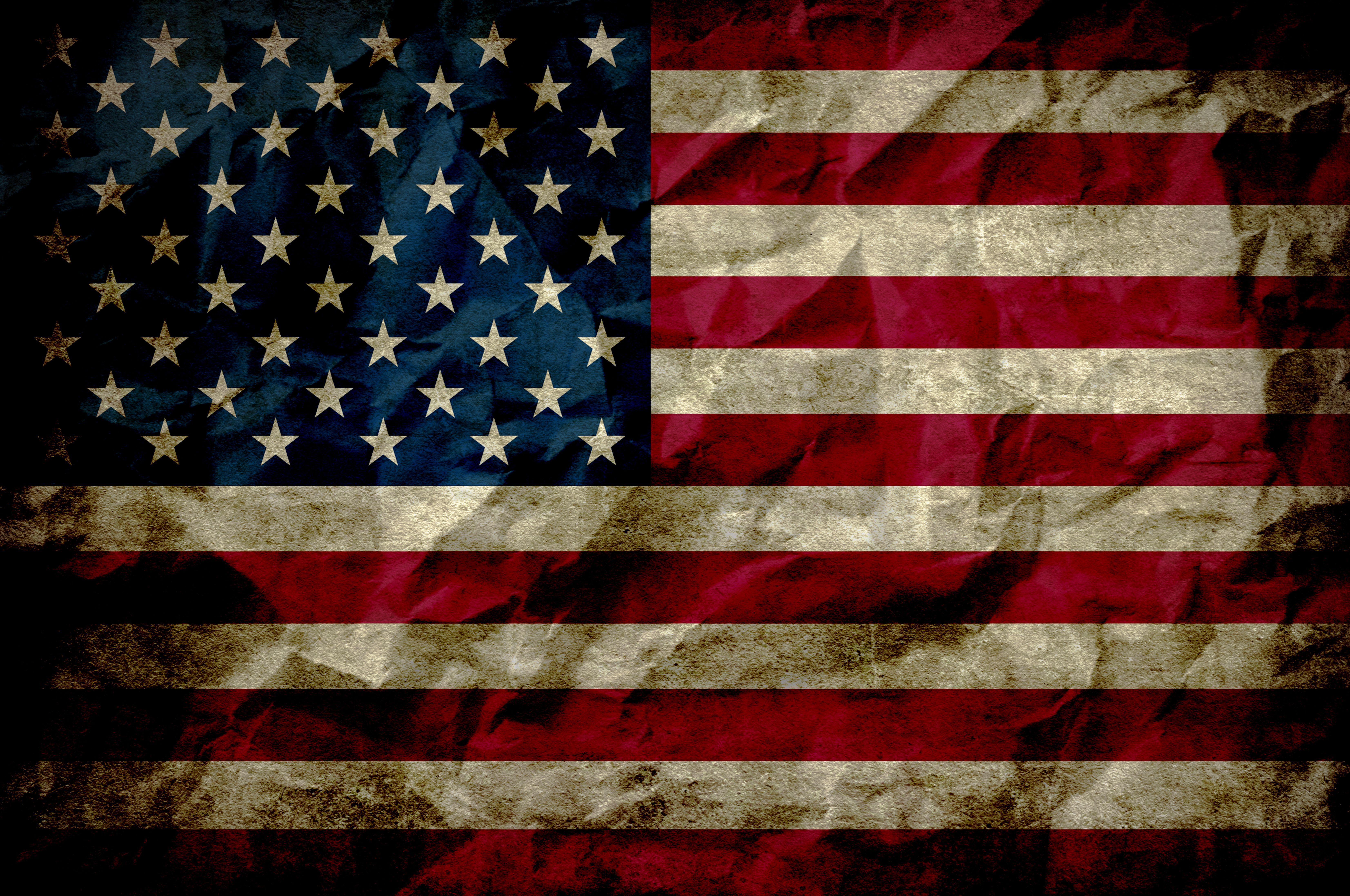 Grunge American Flag Wallpapers Top Free Grunge American Flag Backgrounds Wallpaperaccess