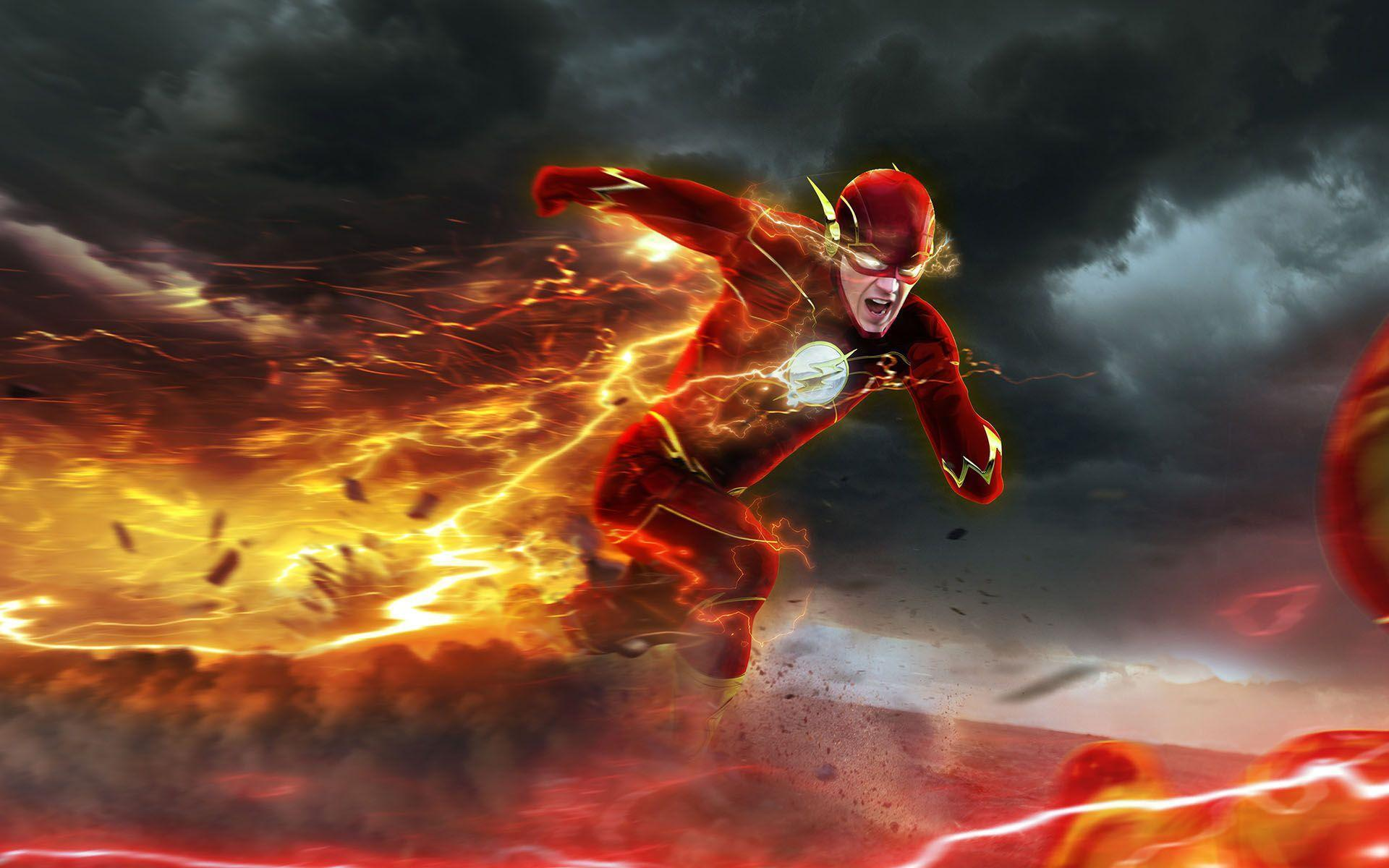 The Flash Wallpapers Top Free The Flash Backgrounds Wallpaperaccess