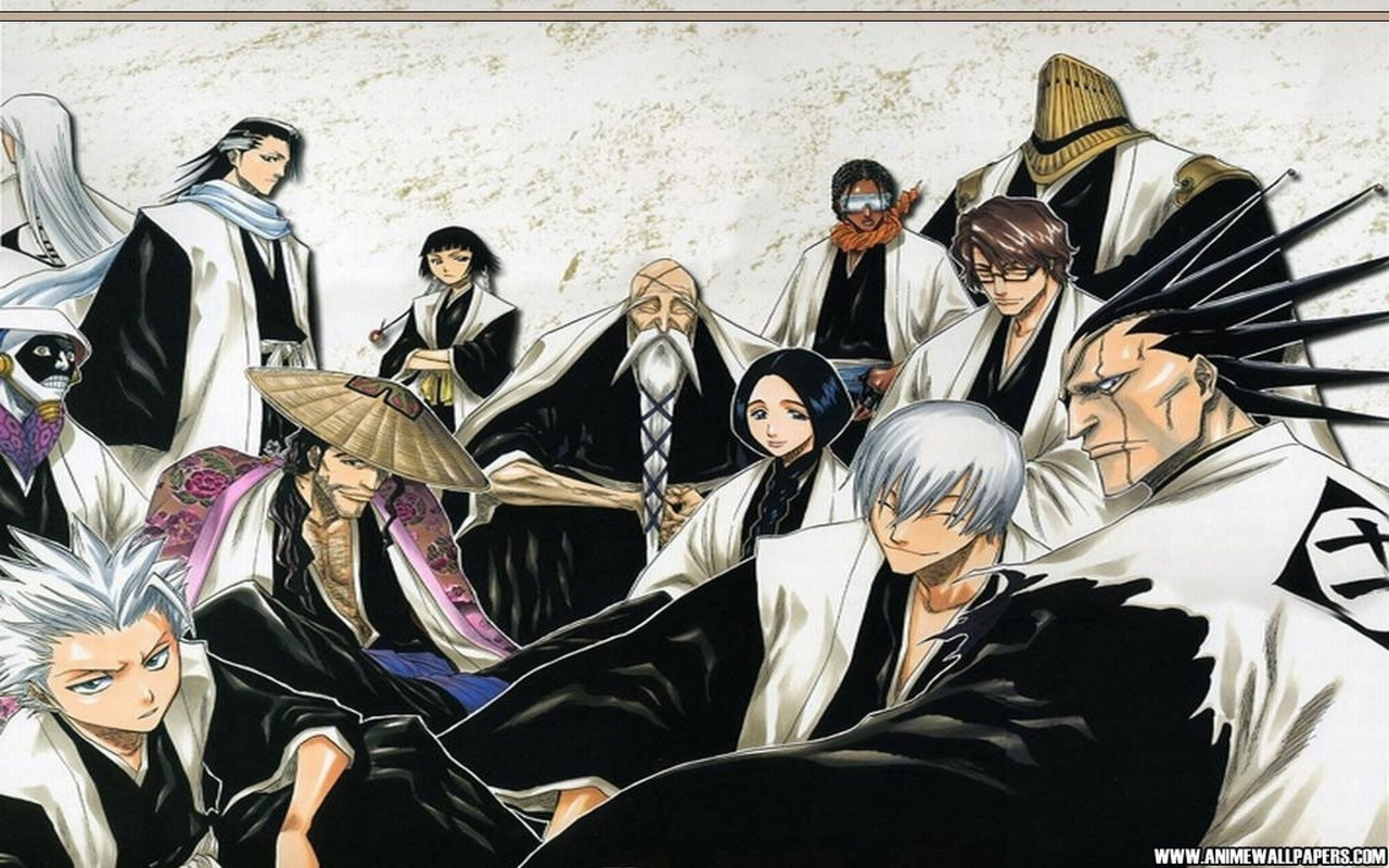 2560x1600 Captains Gotei 13 Full HD Wallpaper and Background Image | 2560x1600 .