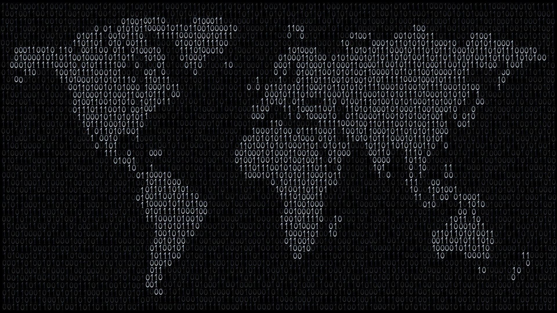 Hình nền 4K bản đồ thế giới 1920x1080