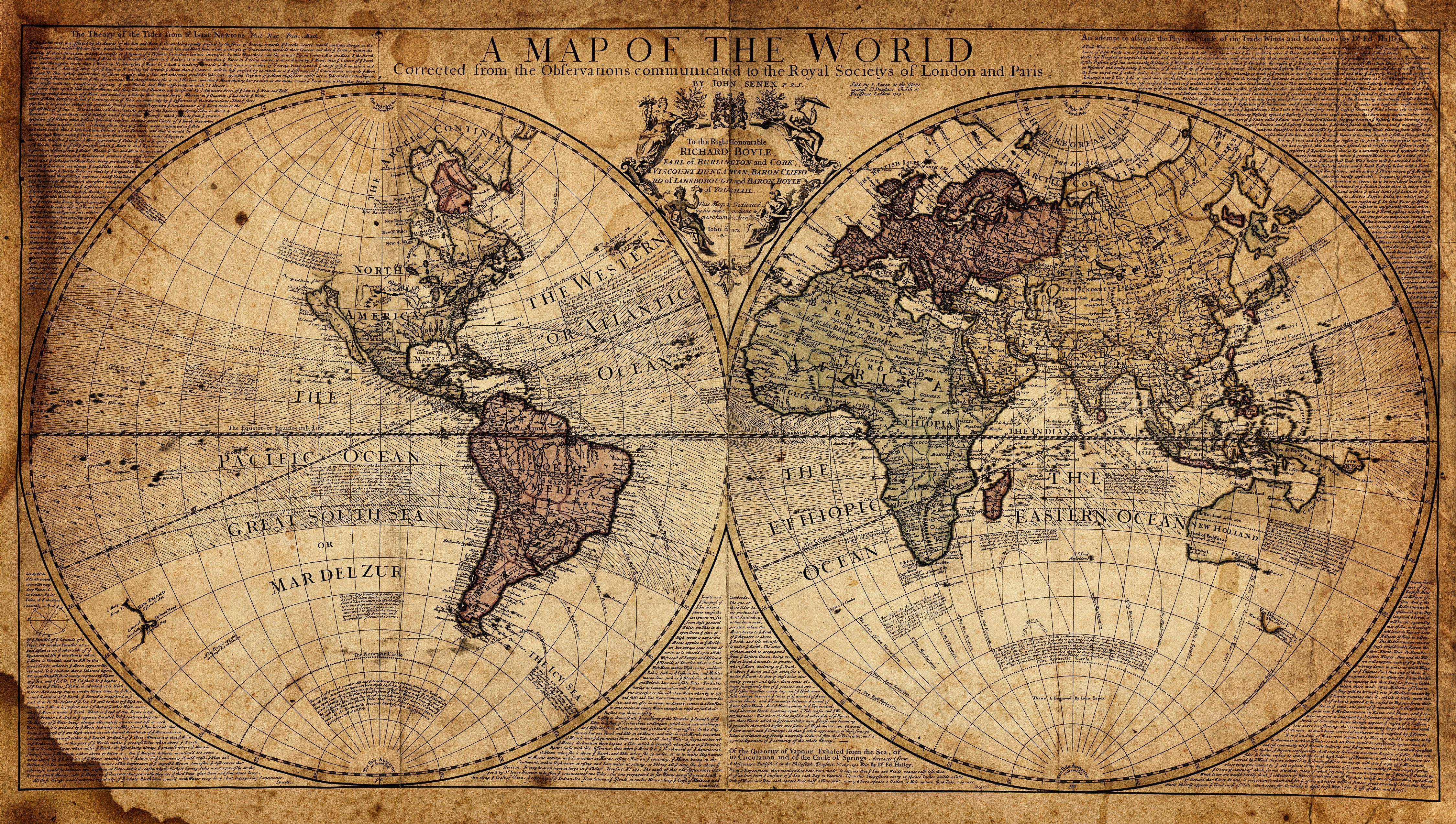 Hình nền 4k Ultra HD Bản đồ thế giới 4500x2548.  Hình nền.  4500x2548