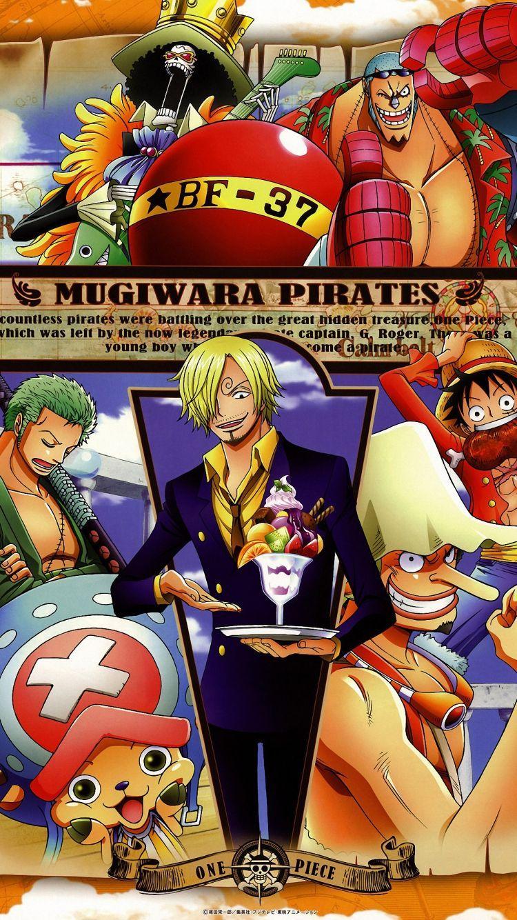 750x1334 Hình nền iPhone 6s One Piece HD