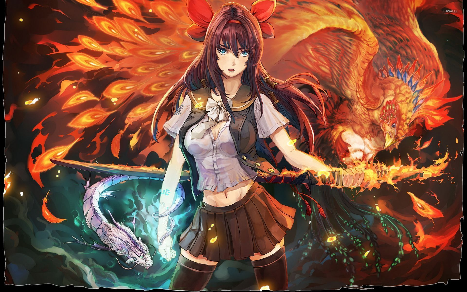 Anime Phoenix Wallpapers Top Free Anime Phoenix Backgrounds