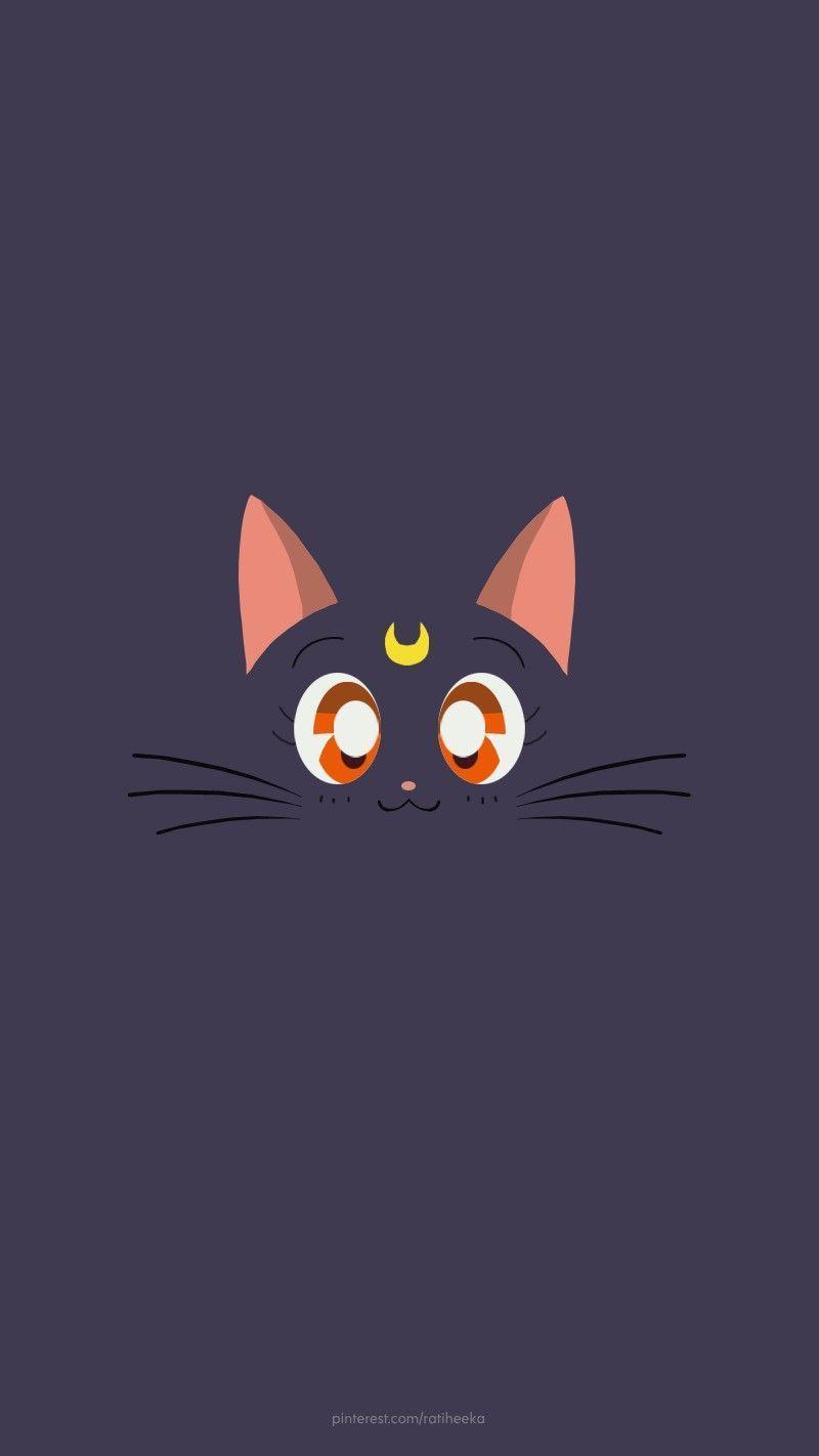 Sailor Moon Cats Wallpapers Top Free Sailor Moon Cats Backgrounds Wallpaperaccess