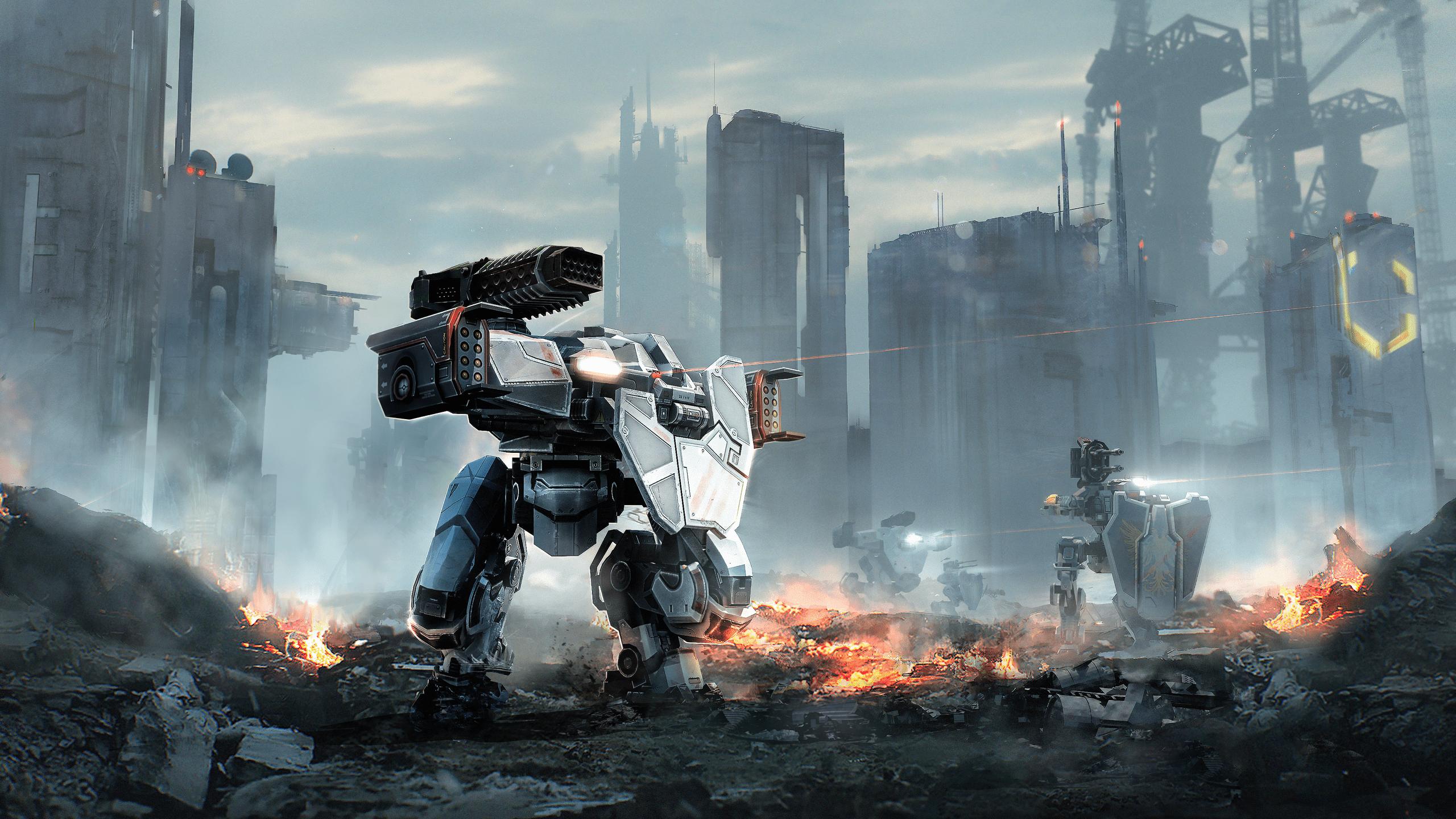 War Robots Wallpapers Top Free War Robots Backgrounds Wallpaperaccess