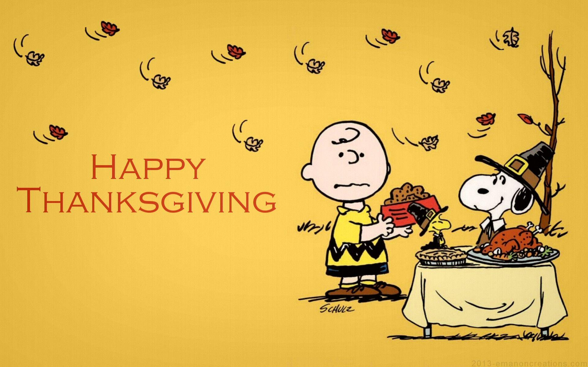 49 Best Free Snoopy Thanksgiving Desktop Wallpapers Wallpaperaccess