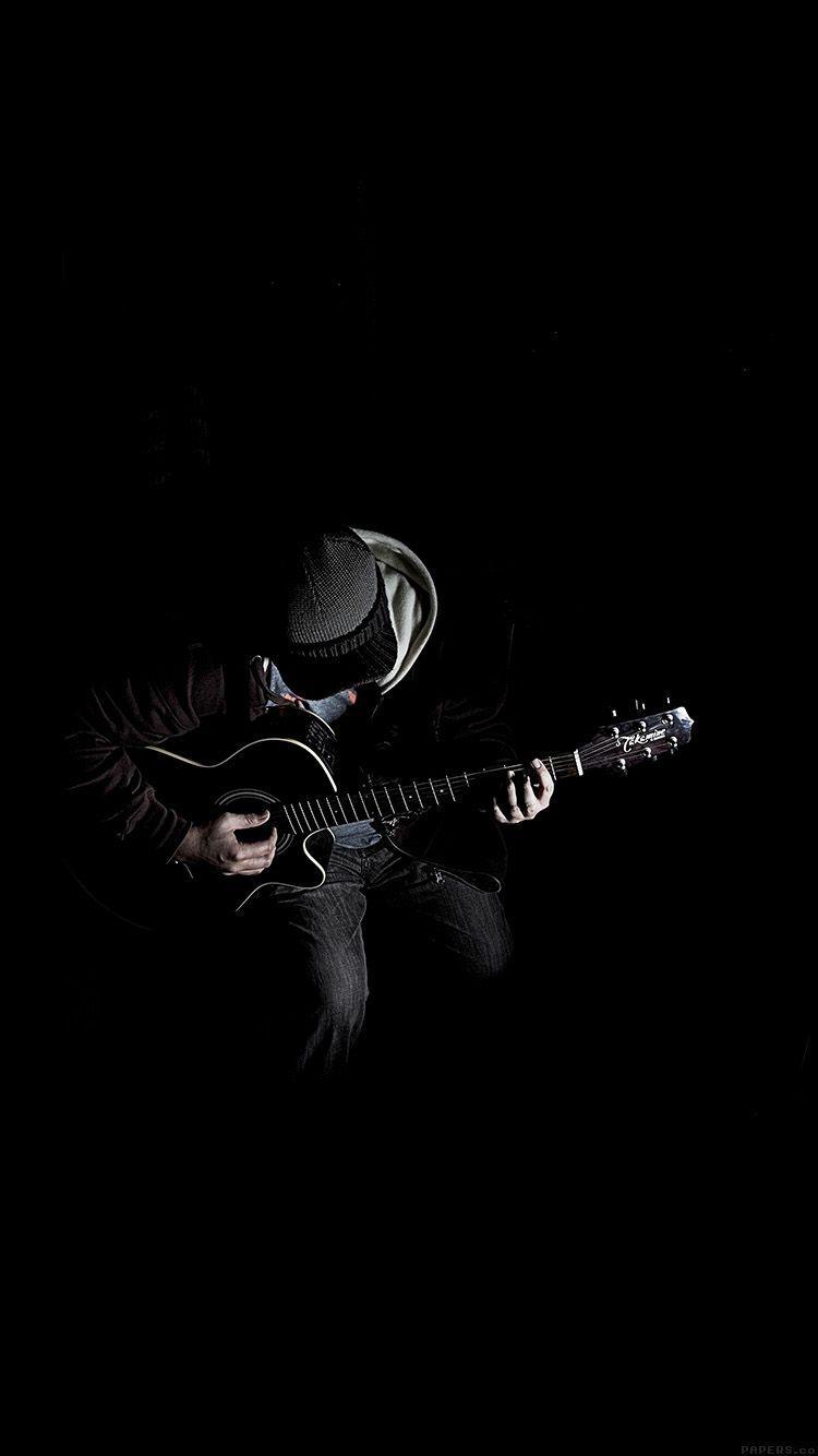 Dark Guitar Wallpapers Top Free Dark Guitar Backgrounds Wallpaperaccess