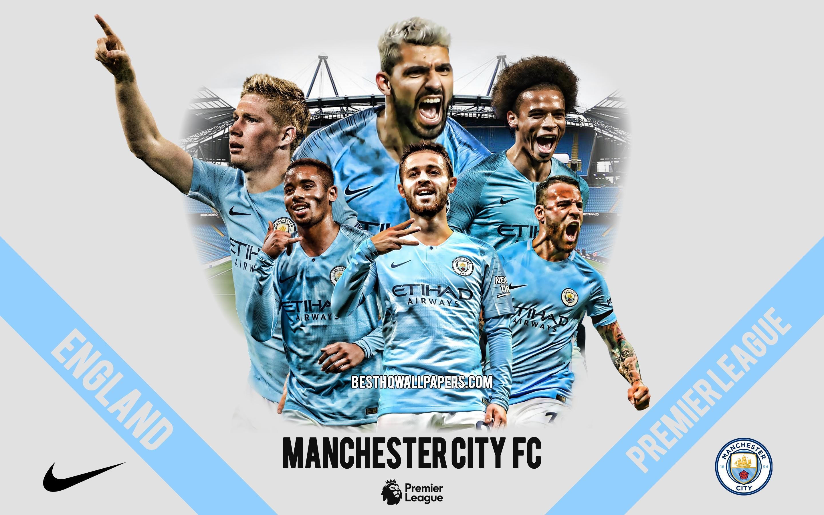Manchester City Football Club Wallpapers Top Free Manchester City Football Club Backgrounds Wallpaperaccess