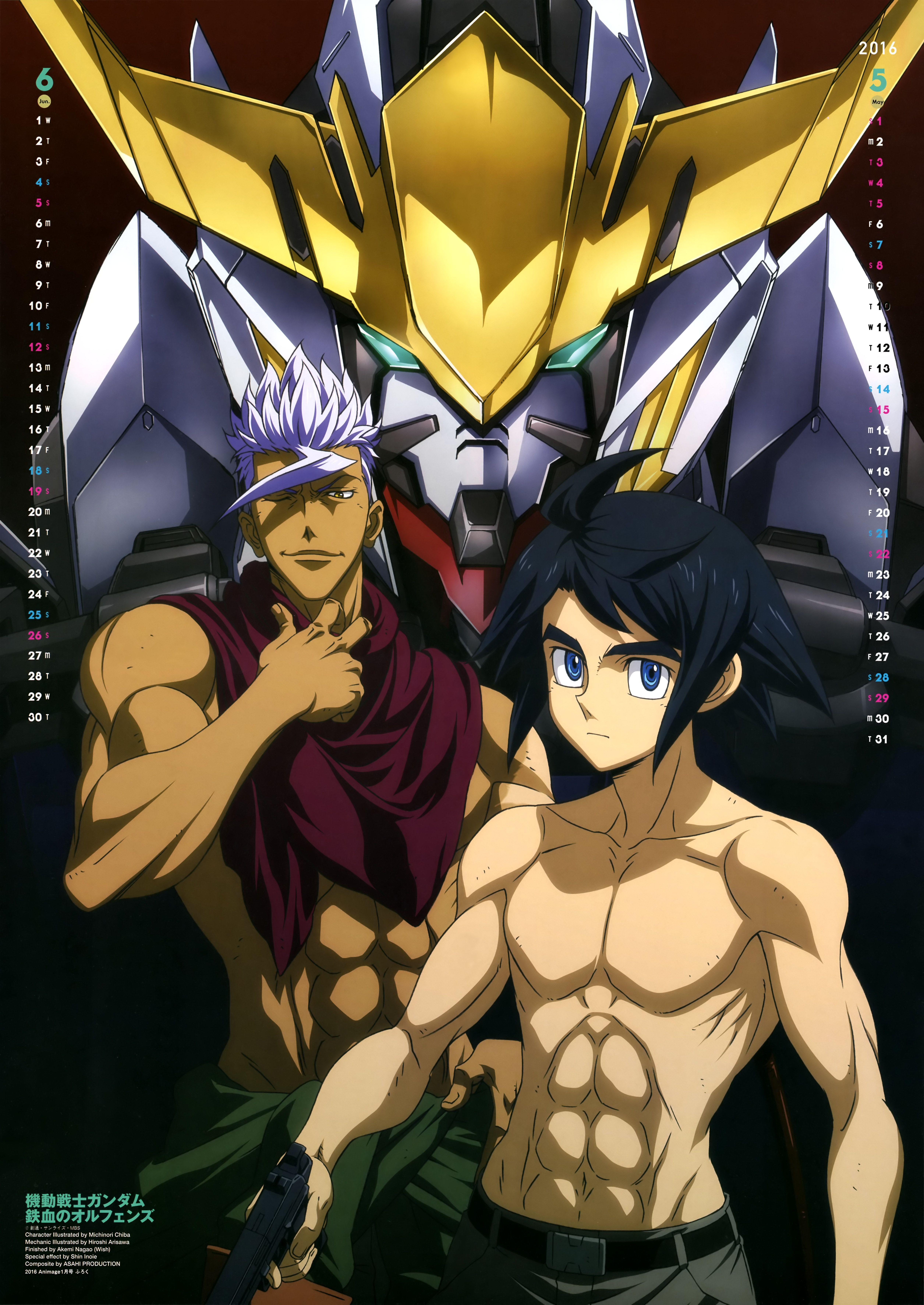 Mobile Suit Gundam Iron Blooded Orphans Wallpapers Top Free