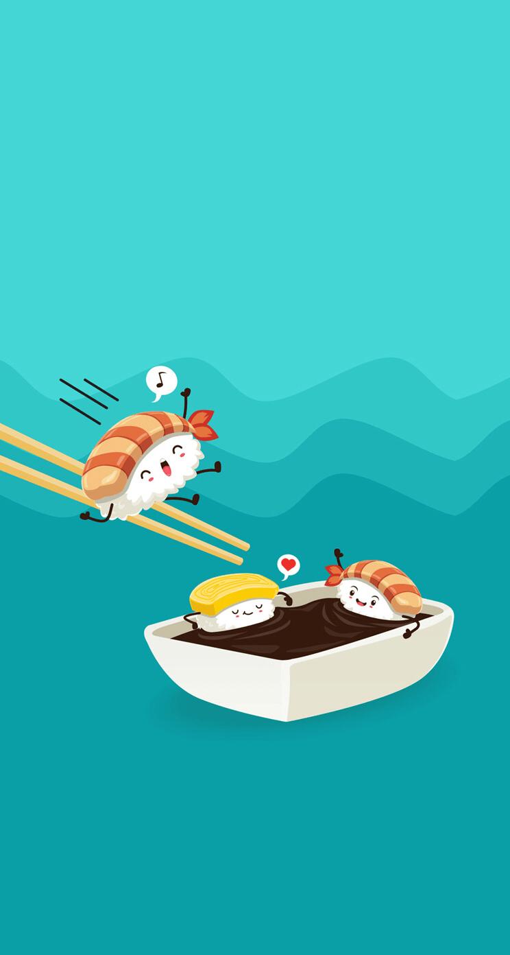 Cartoon Sushi Wallpapers Top Free Cartoon Sushi