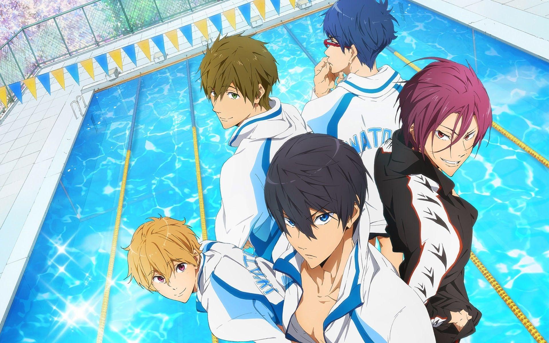 Free Iwatobi Swim Club Wallpaper