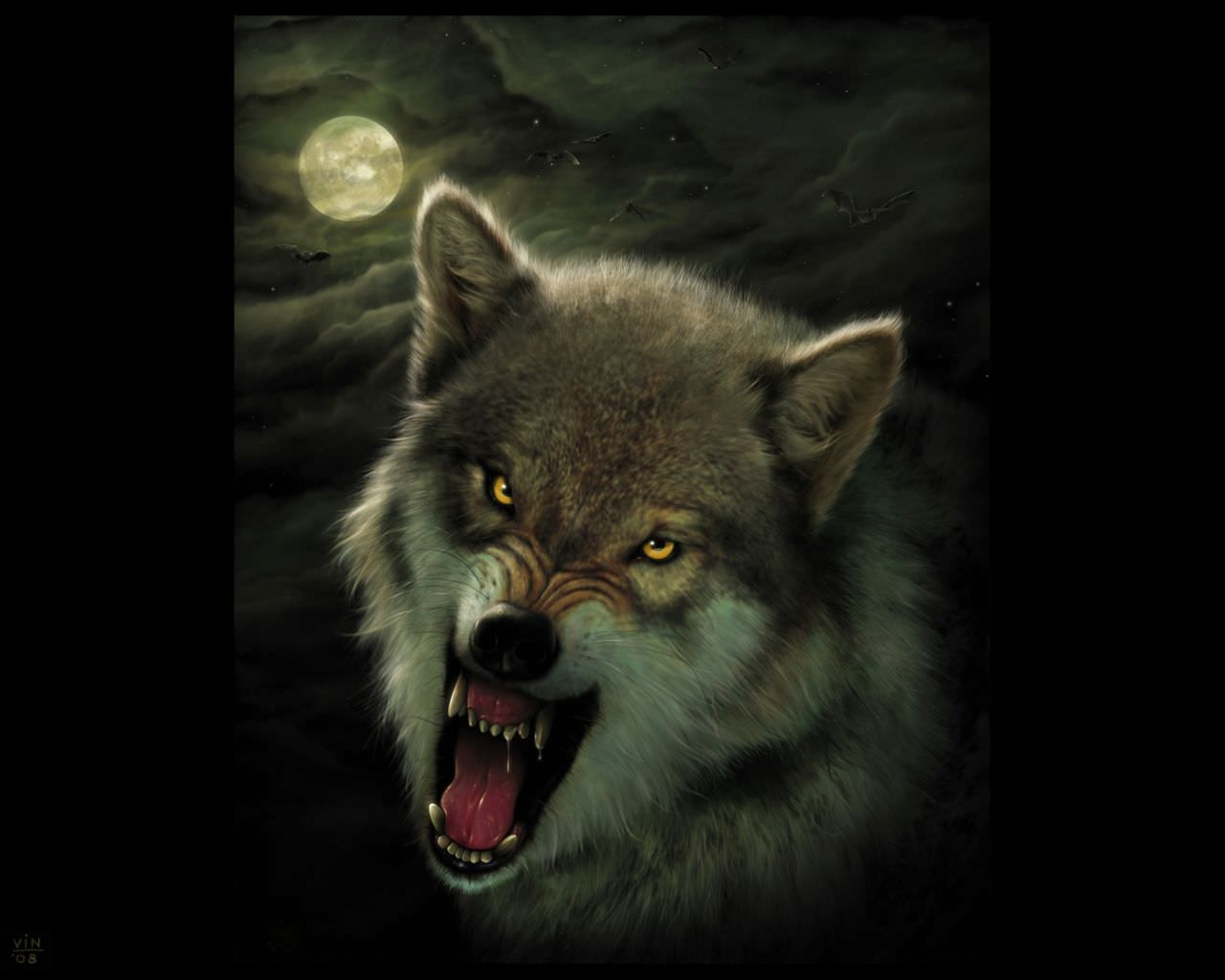 Evil Wolf Wallpapers Top Free Evil Wolf Backgrounds