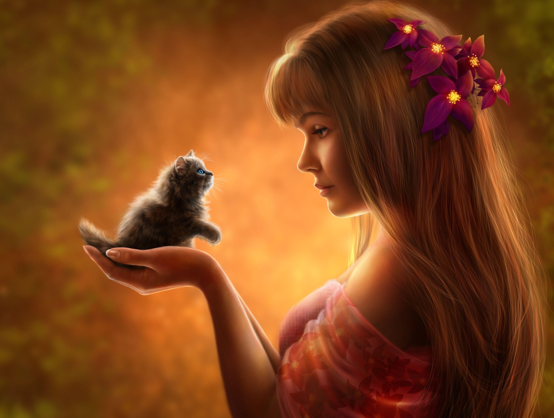 Cute Fantasy Girl Wallpapers Top Free Cute Fantasy Girl Backgrounds Wallpaperaccess