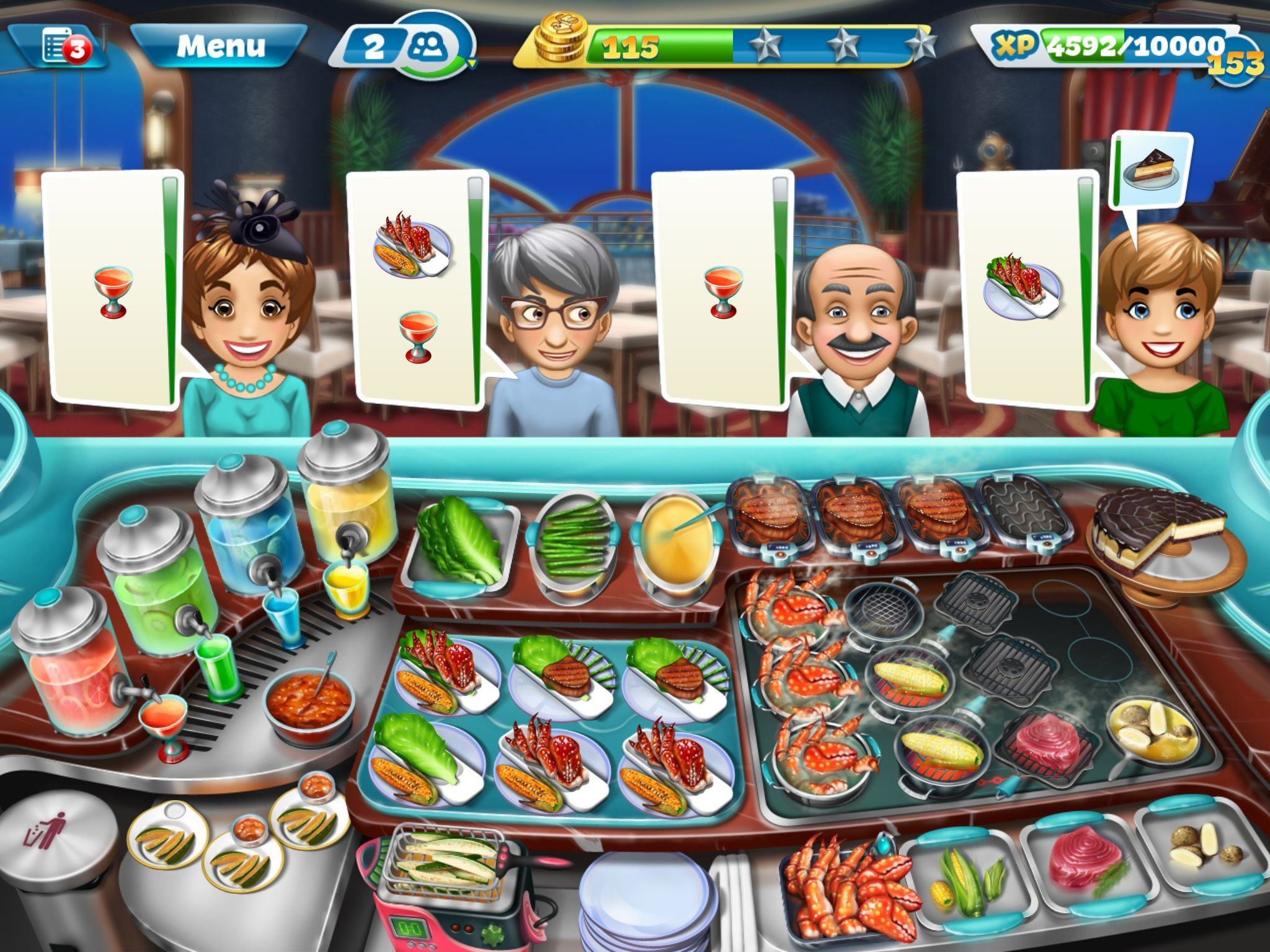 Cooking fever download on computer