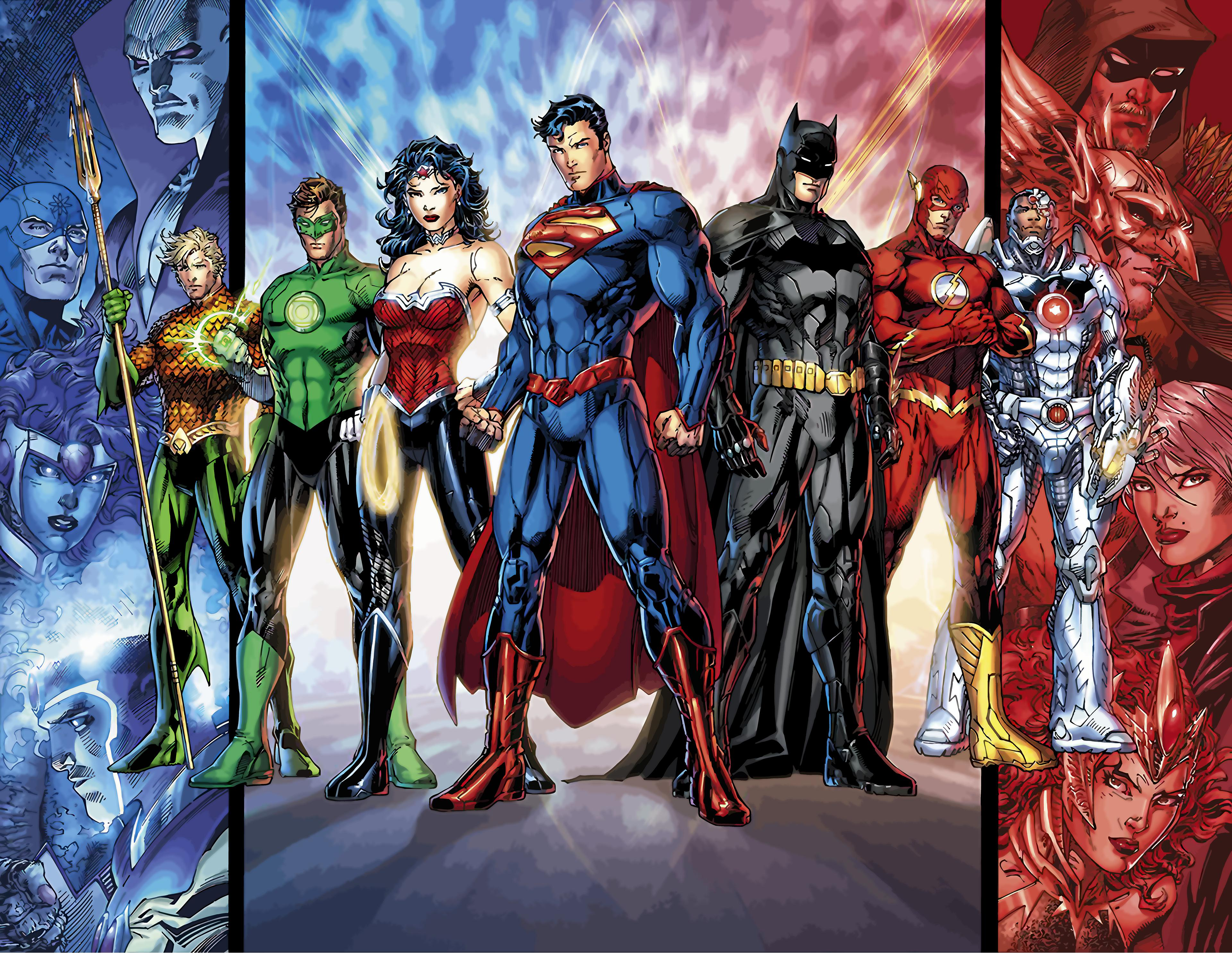 Dc Characters Wallpapers Top Free Dc Characters Backgrounds Wallpaperaccess