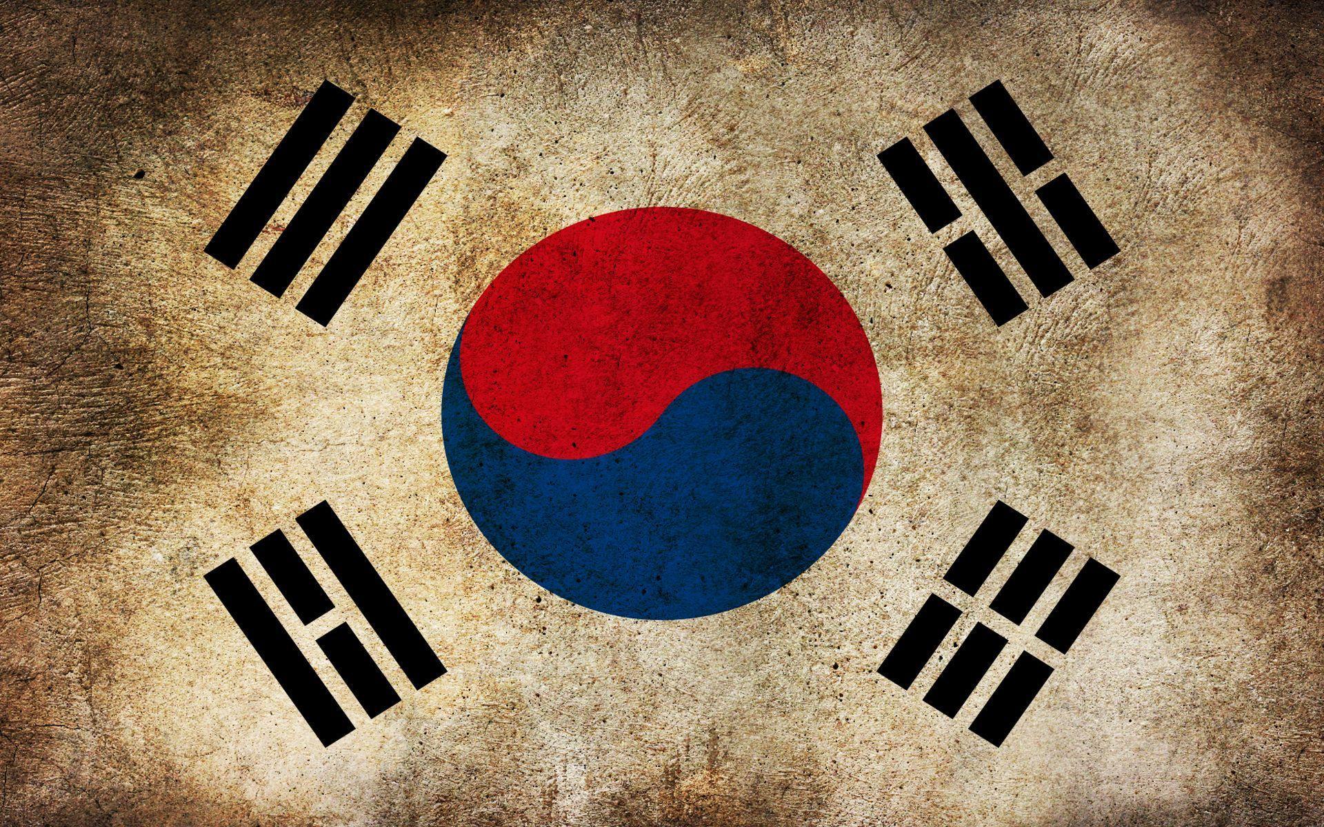 Korea Flag Wallpapers Top Free Korea Flag Backgrounds