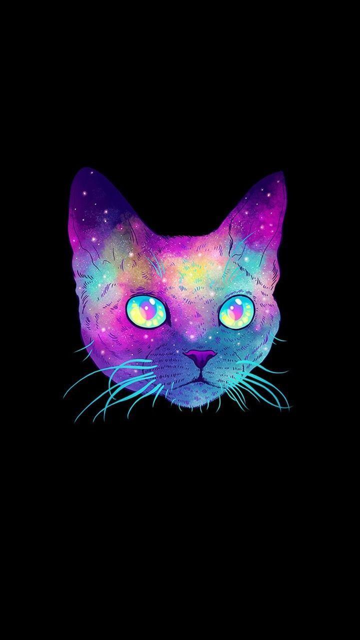 Purple Cat Aesthetic Wallpapers Top Free Purple Cat Aesthetic Backgrounds Wallpaperaccess