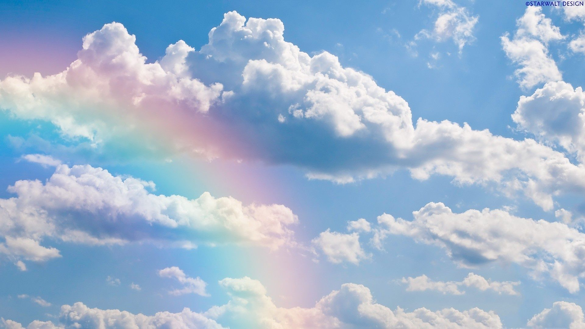 Rainbow Cloud Wallpapers Top Free Rainbow Cloud Backgrounds Wallpaperaccess