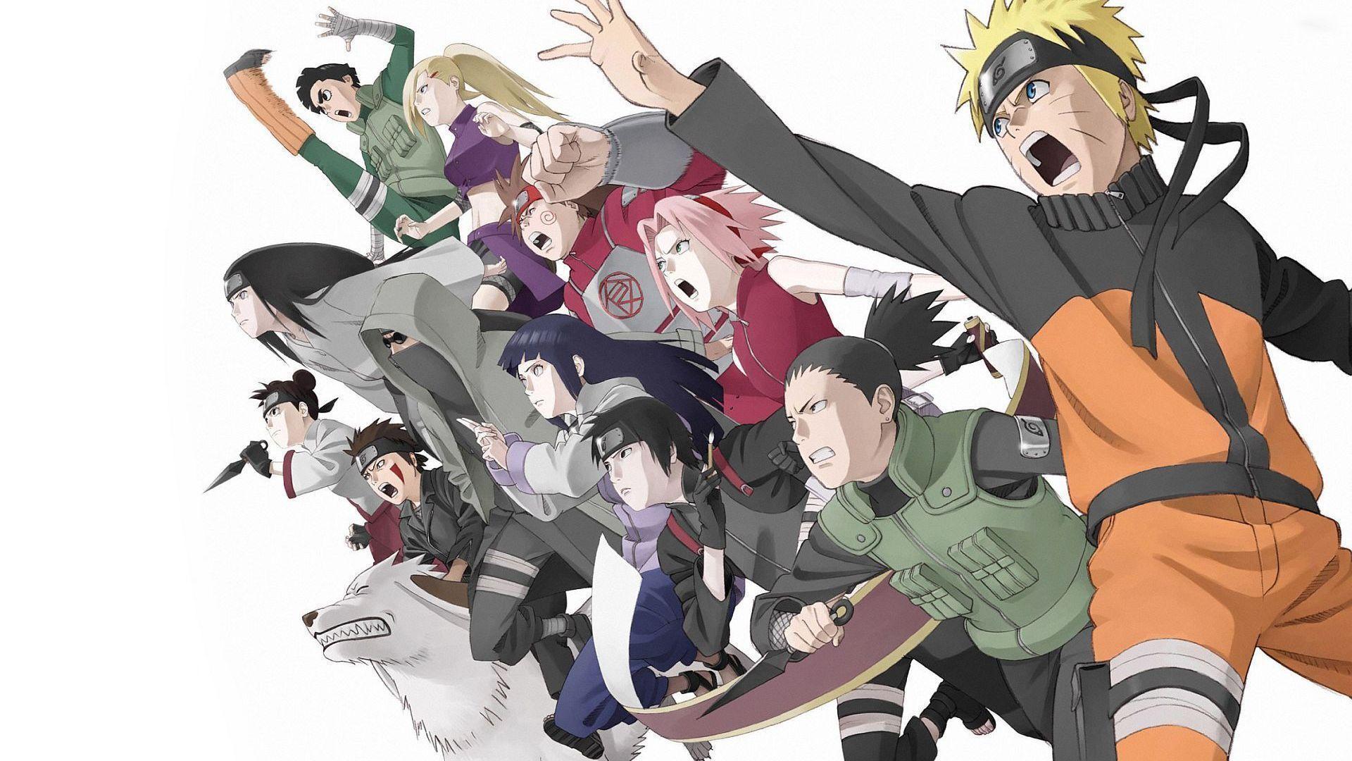 Naruto And Friends Wallpapers Top Free Naruto And Friends Backgrounds Wallpaperaccess