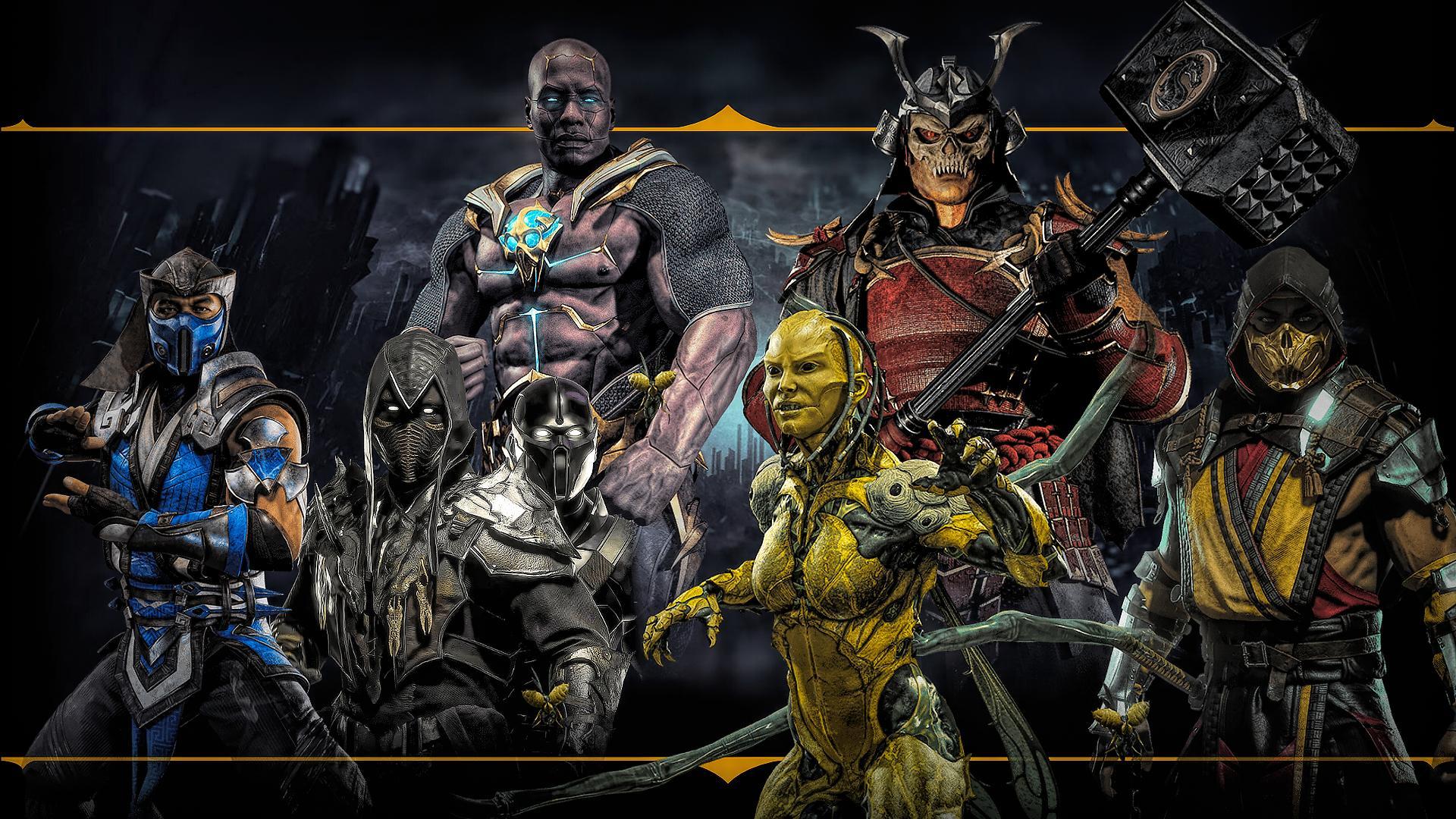Mortal Kombat 11 Desktop Wallpapers Top Free Mortal Kombat 11