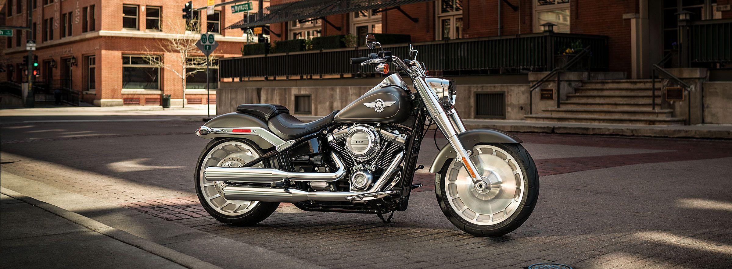 Harley Davidson Fat Boy Wallpapers Top Free Harley Davidson Fat Boy Backgrounds Wallpaperaccess