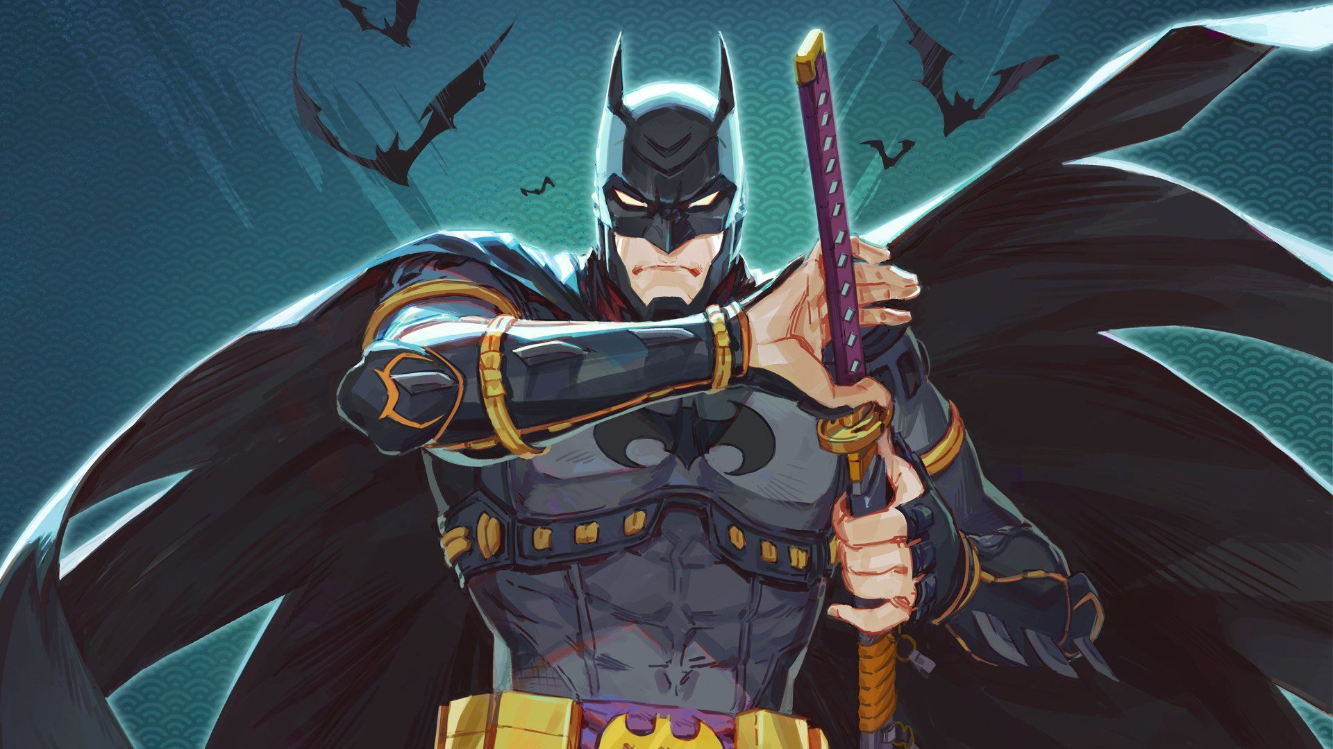 Batman Ninja Wallpapers Top Free Batman Ninja Backgrounds Wallpaperaccess