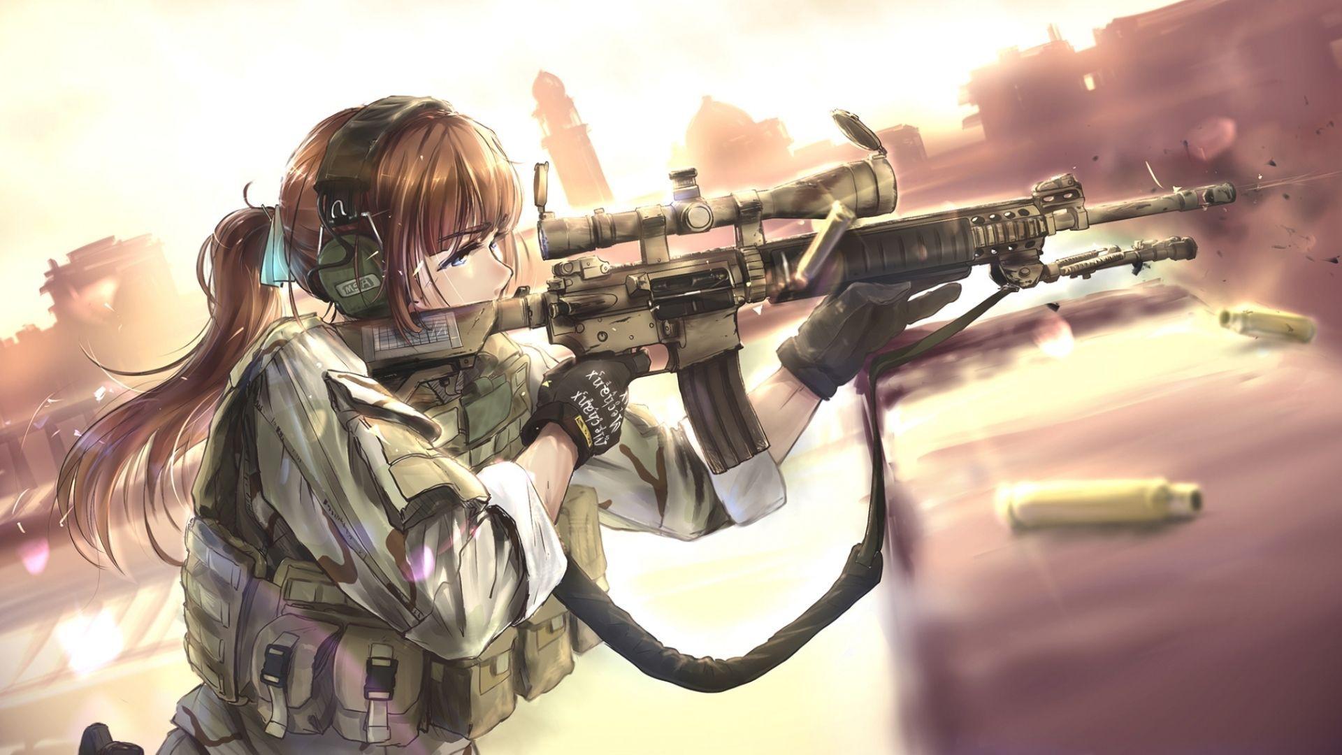Anime Gun Wallpapers - Top Free Anime Gun Backgrounds