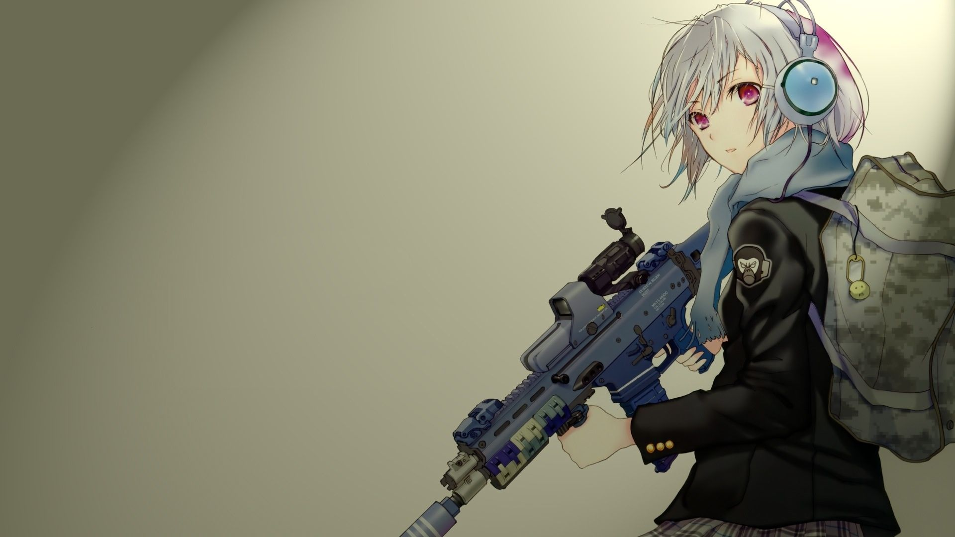 23 best free anime gun wallpapers - wallpaperaccess