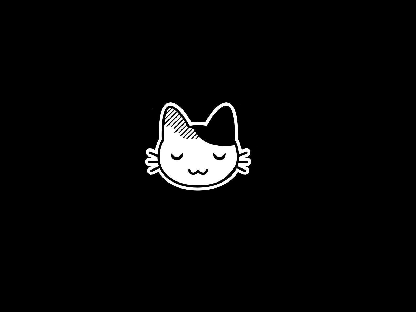 Cute Black Cat Anime Wallpapers Top Free Cute Black Cat Anime Backgrounds Wallpaperaccess
