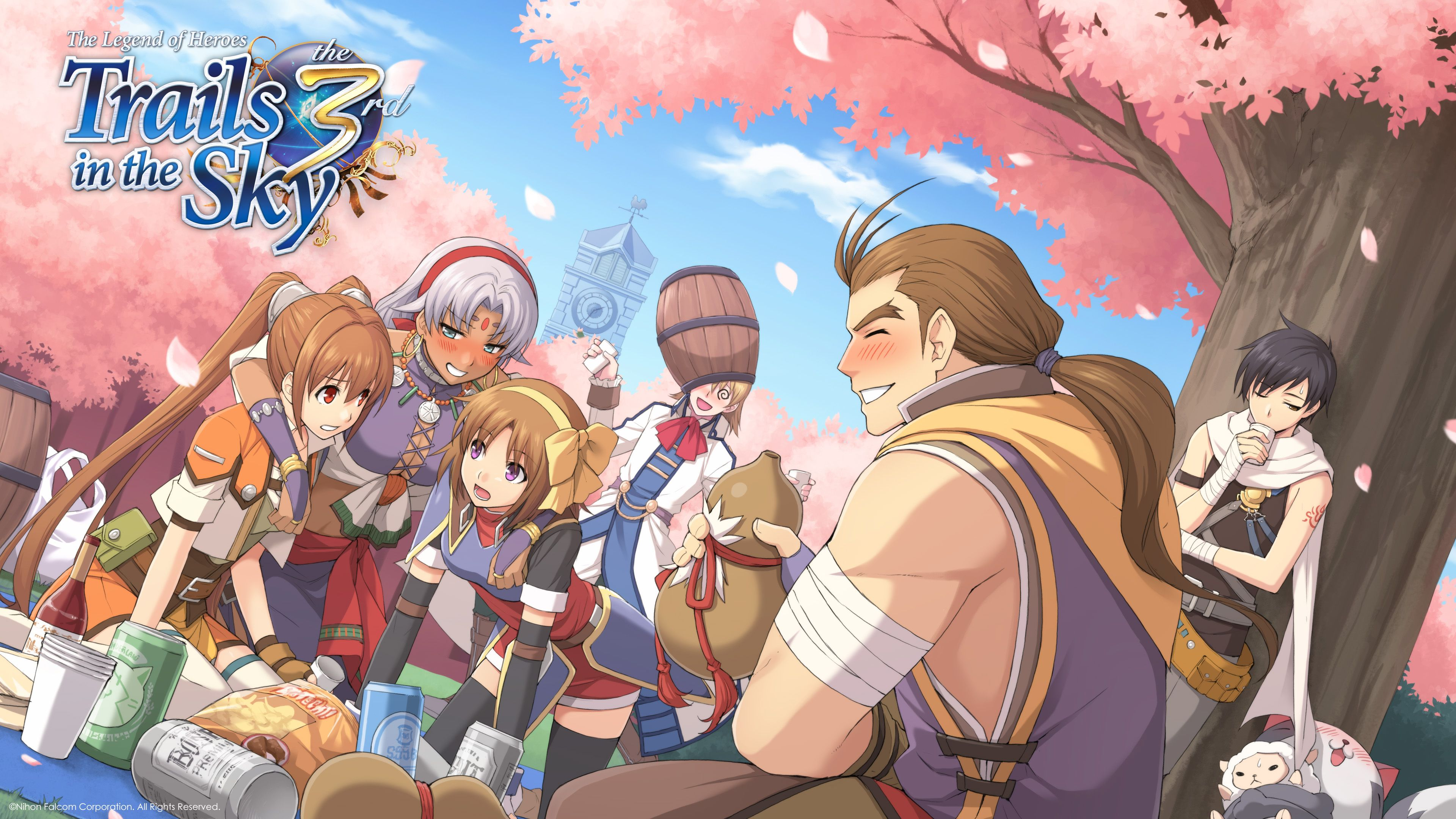 The Legend Of Heroes Wallpapers Top Free The Legend Of Heroes