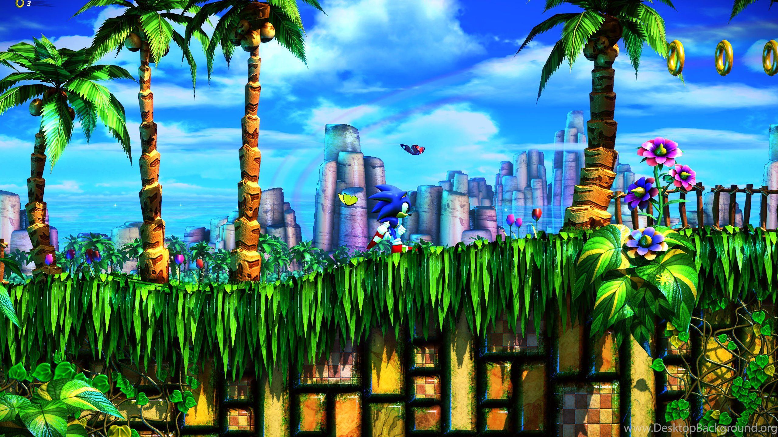 Green Hill Zone Wallpapers Top Free Green Hill Zone Backgrounds Wallpaperaccess