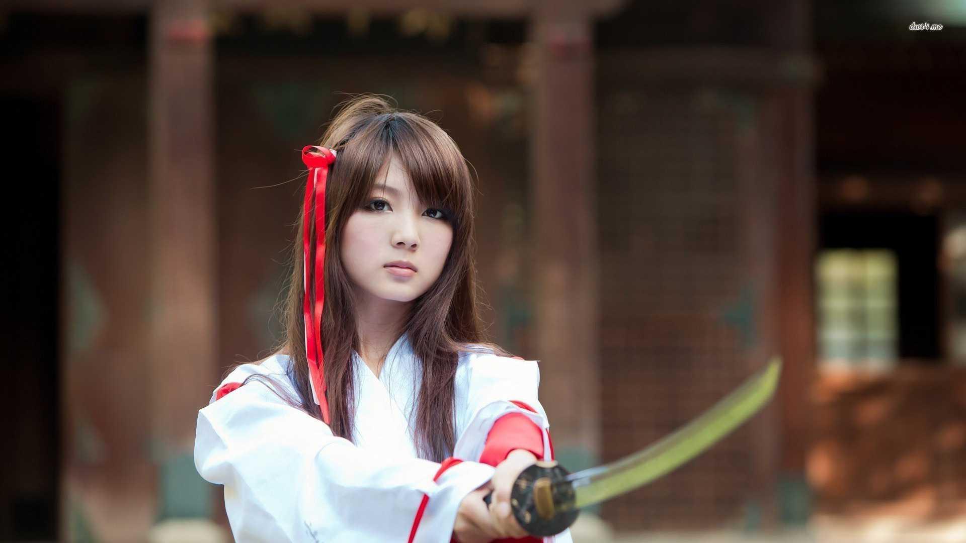 Japanese Samurai Girl Wallpapers Top Free Japanese Samurai Girl