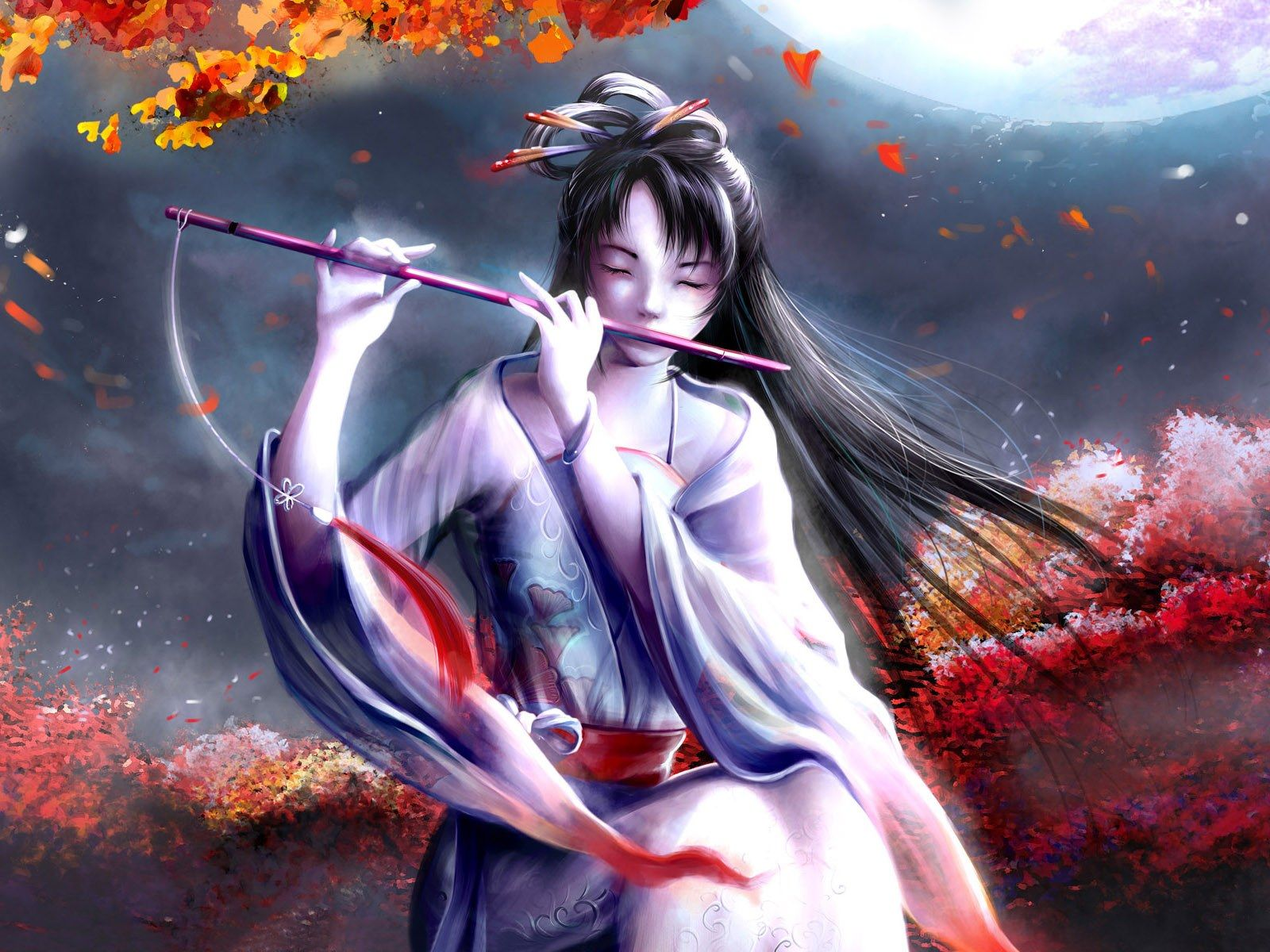 Beautiful Female Anime Wallpapers Top Free Beautiful Female