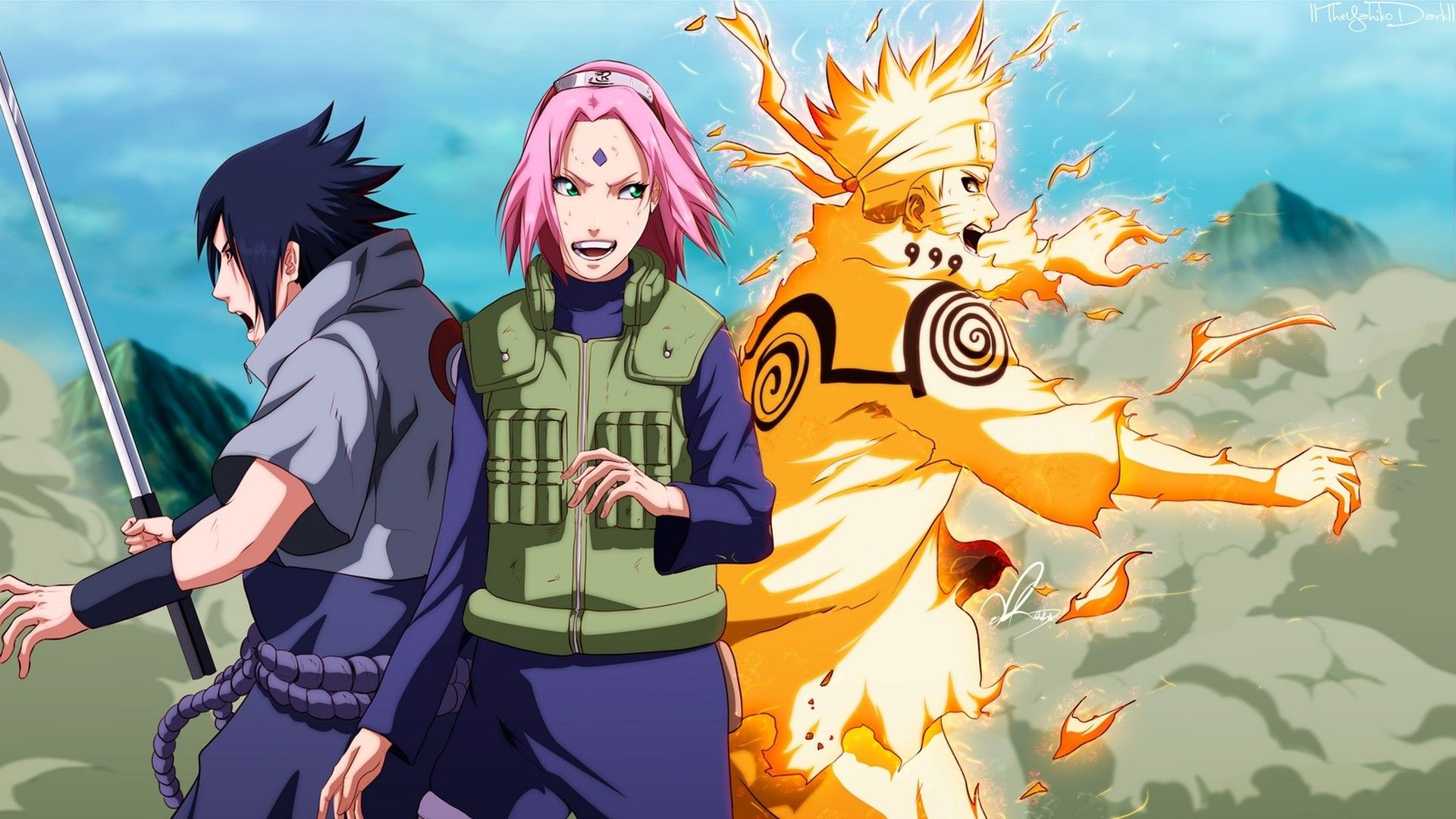 Naruto Sasuke Sakura Wallpapers Top Free Naruto Sasuke Sakura