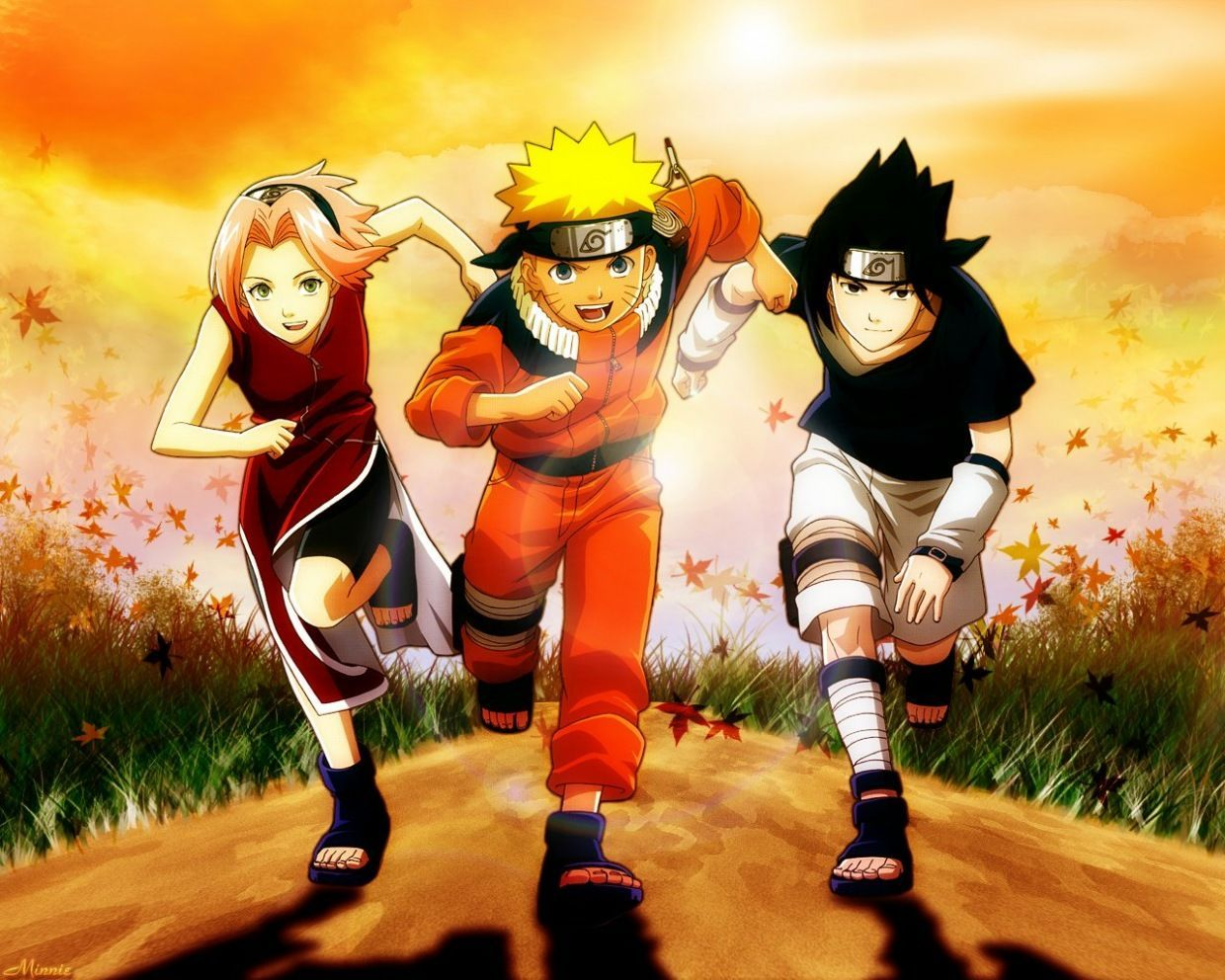 Naruto Sasuke Sakura Wallpapers Top Free Naruto Sasuke Sakura Backgrounds Wallpaperaccess