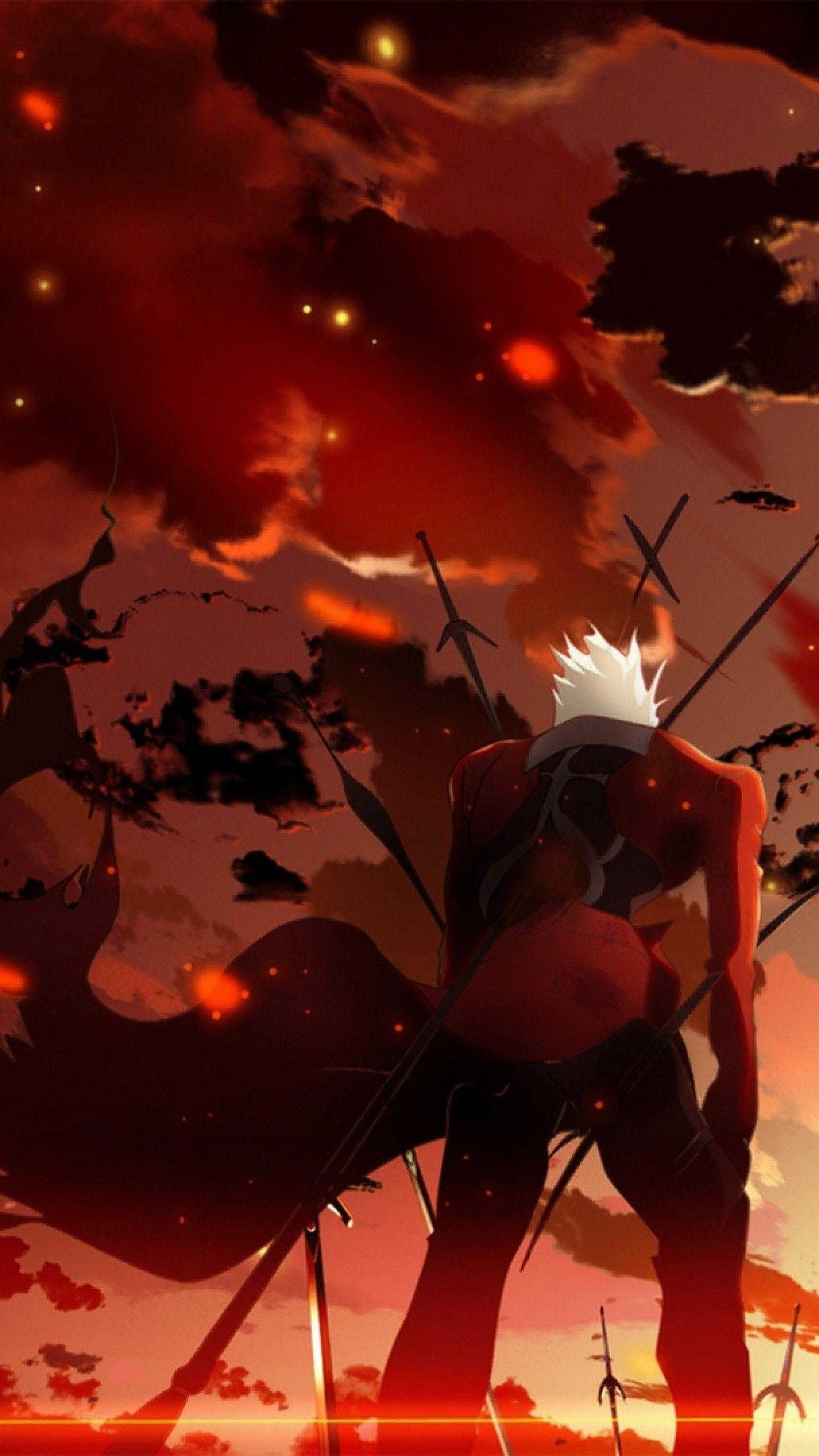 Fate Zero Iphone Wallpapers Top Free Fate Zero Iphone