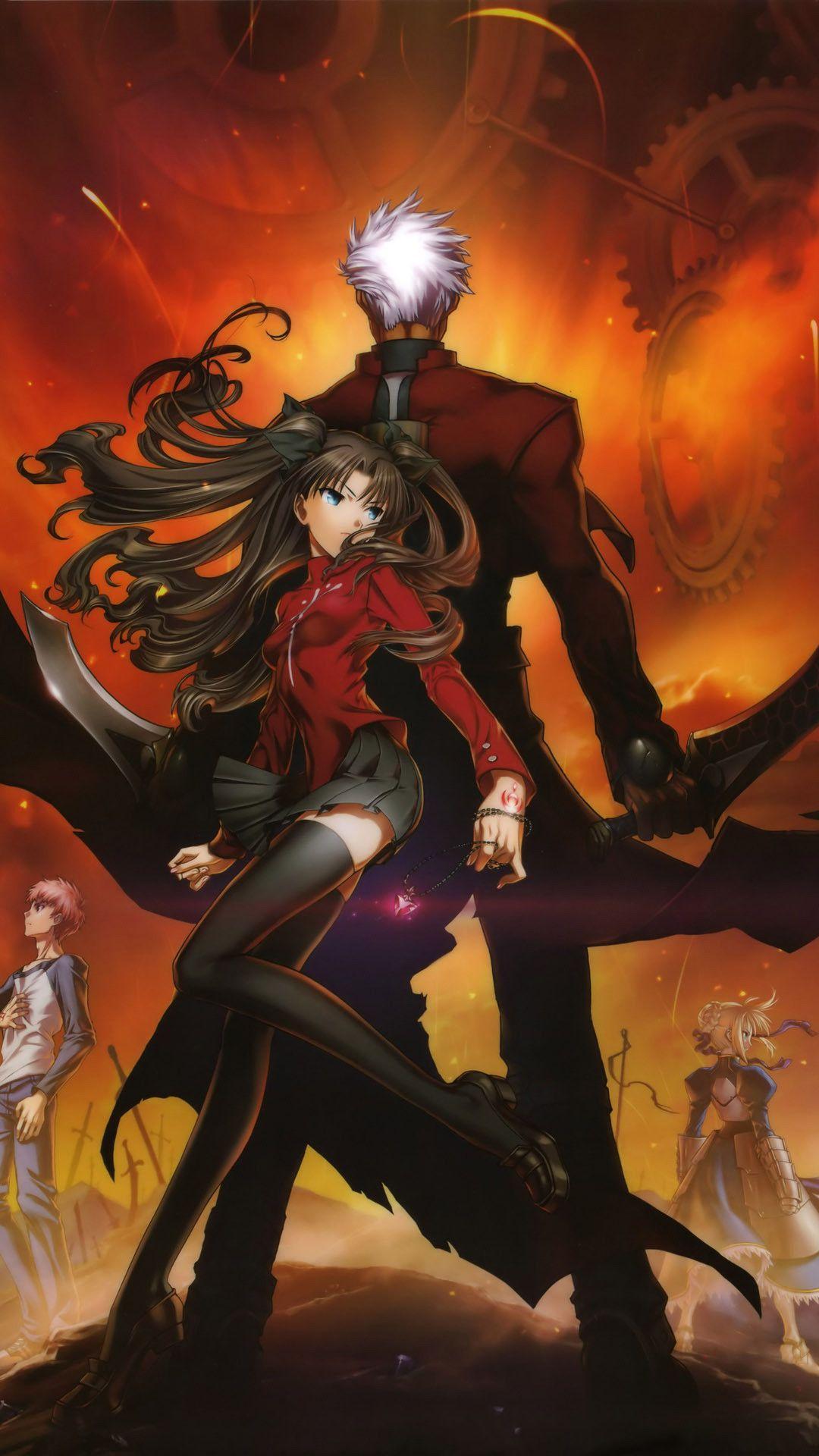 Fate Zero Iphone Wallpapers Top Free Fate Zero Iphone
