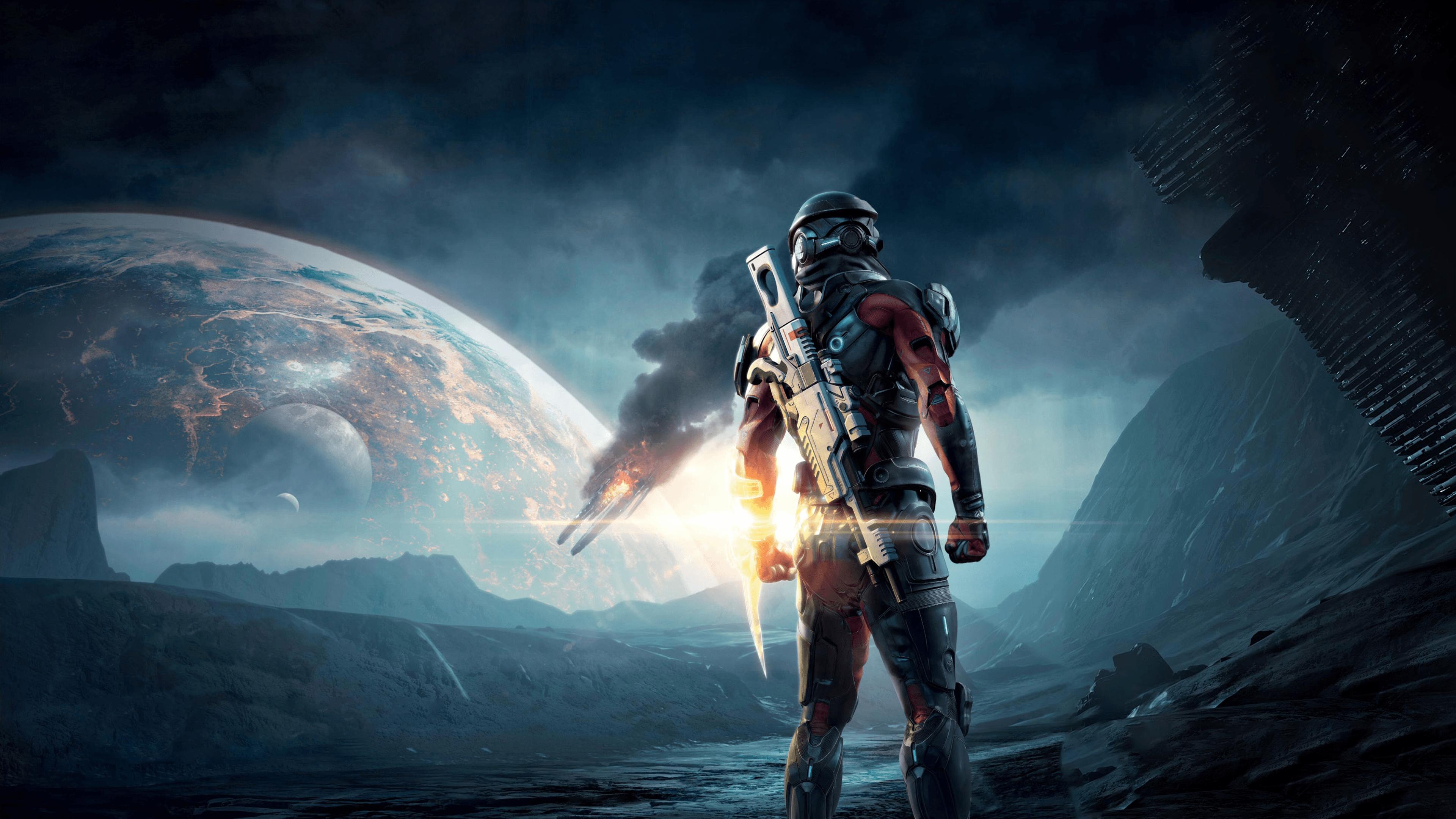 Mass Effect 4k Wallpapers Top Free Mass Effect 4k Backgrounds Wallpaperaccess