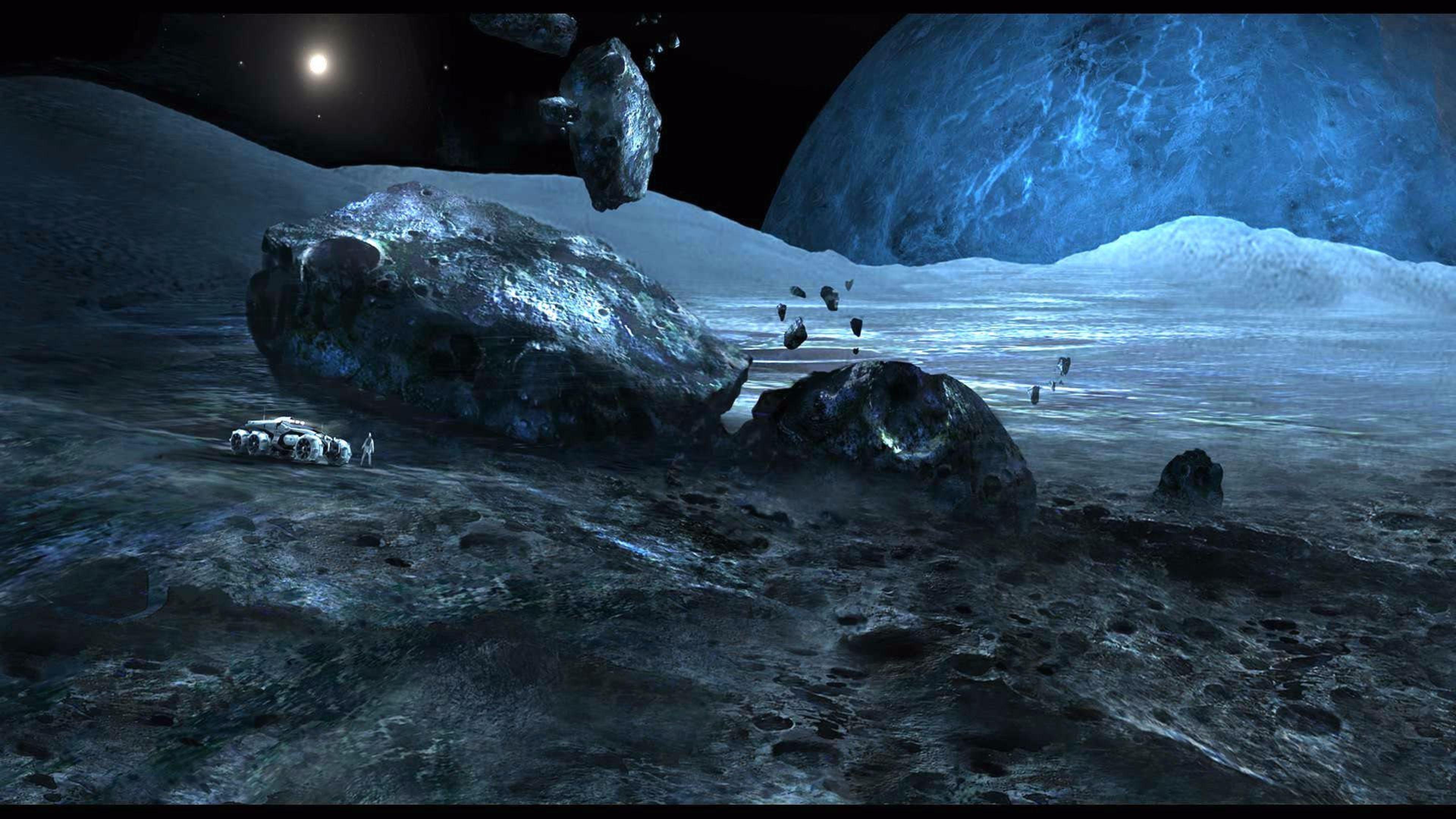 Hình nền 4K hiệu ứng đồ họa tốt nhất 3840x2160 Andromeda.  Hình nền 4K miễn phí