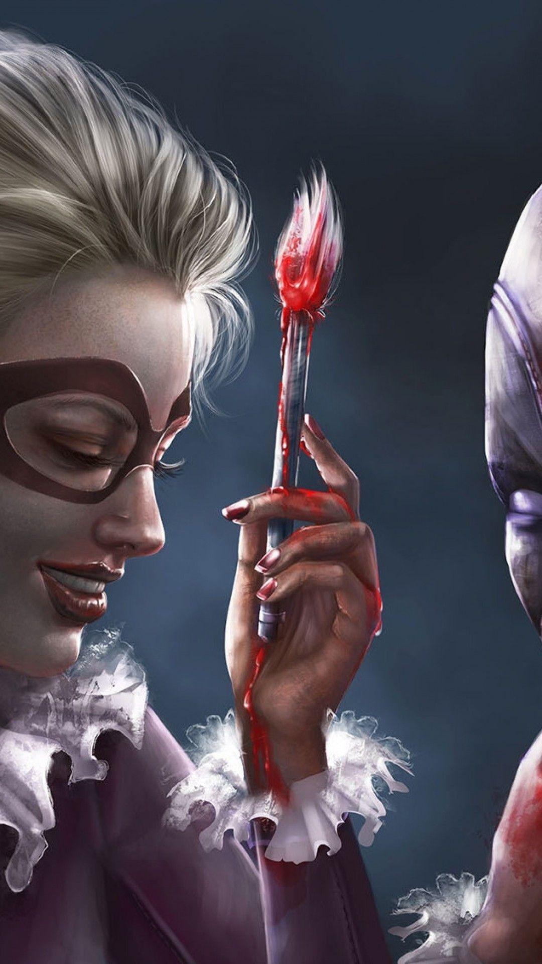 Deadpool Harley Quinn Phone Wallpapers Top Free Deadpool Harley