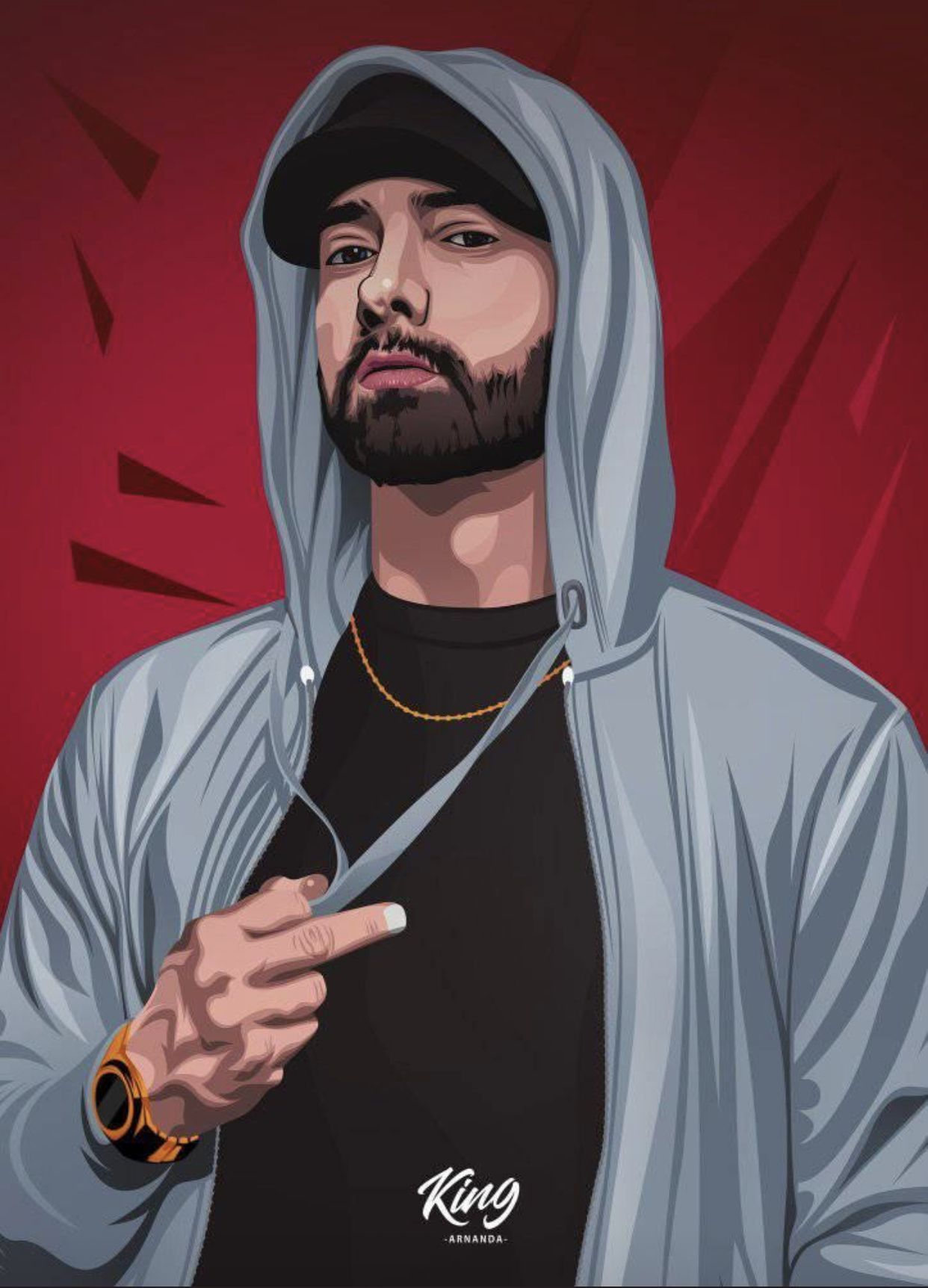 Eminem Cartoon Wallpapers Top Free Eminem Cartoon Backgrounds Wallpaperaccess
