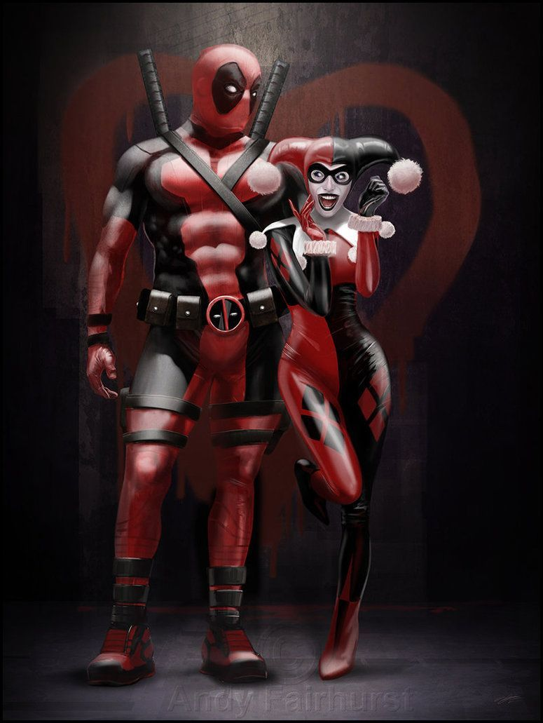 Deadpool And Harley Quinn Wallpapers Top Free Deadpool And