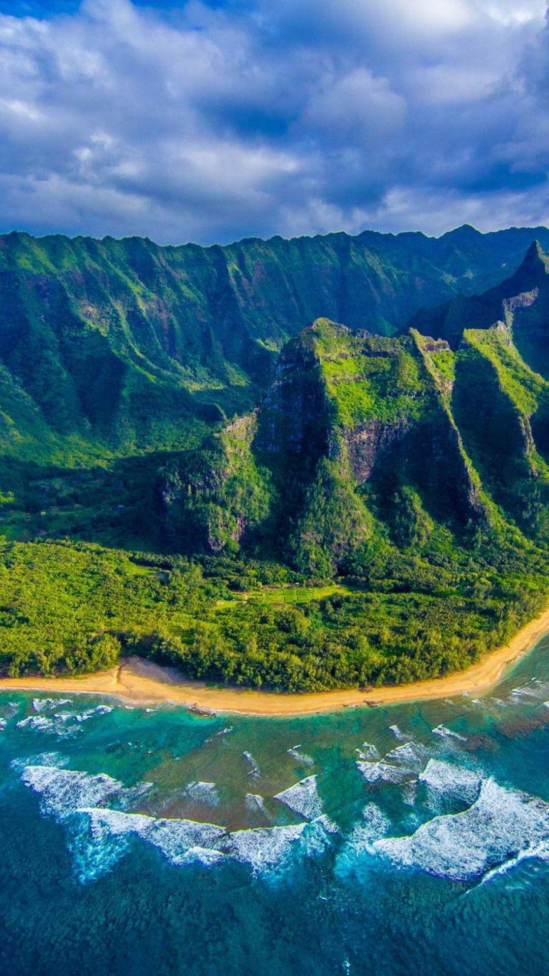 768x1280 Free Hd Hawaii Beach Wallpapers Download