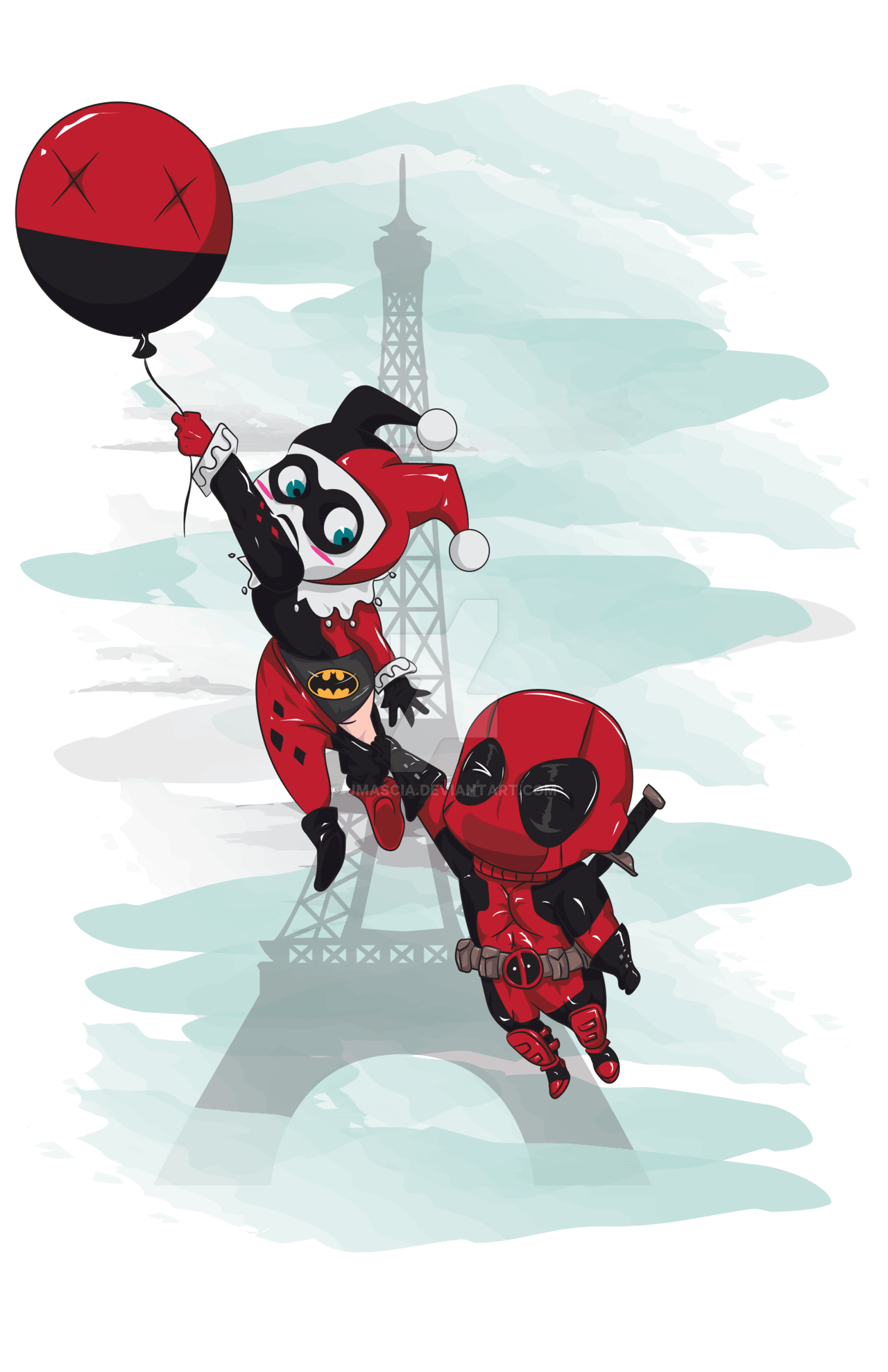 Deadpool And Harley Quinn Wallpapers Top Free Deadpool And Harley Quinn Backgrounds Wallpaperaccess