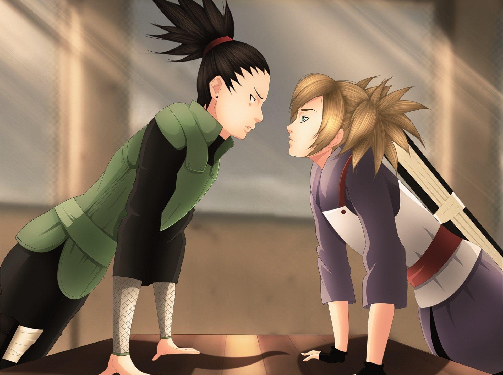 Shikamaru temari and TEMARI AND
