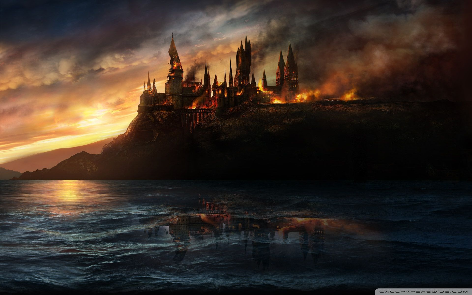 Harry Potter Desktop Wallpapers Top Free Harry Potter Desktop Backgrounds Wallpaperaccess