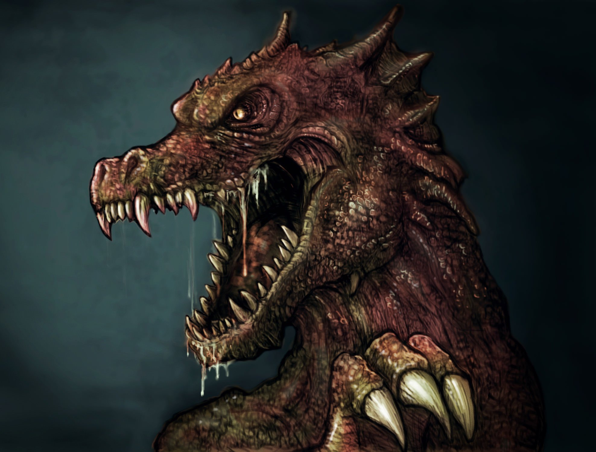 Zombie Dragon Wallpapers - Top Free Zombie Dragon Backgrounds