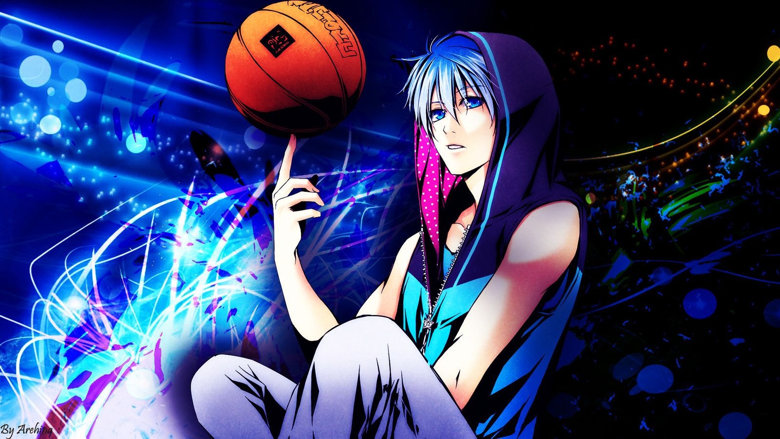 Basketball Anime Wallpapers Top Free Basketball Anime Backgrounds Wallpaperaccess