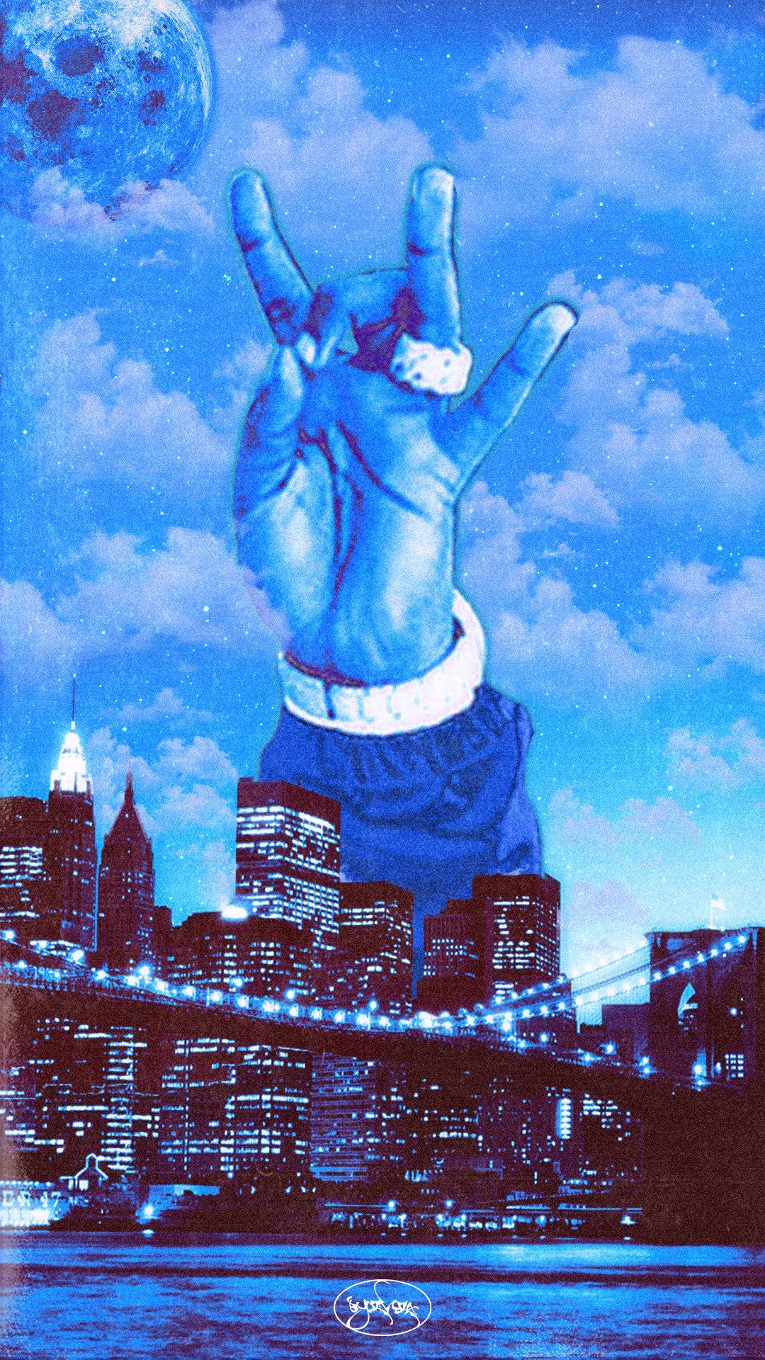 1080x1920 C. RIVERA - WOOO CITY, LONG LIVE POP SMOKE hình nền