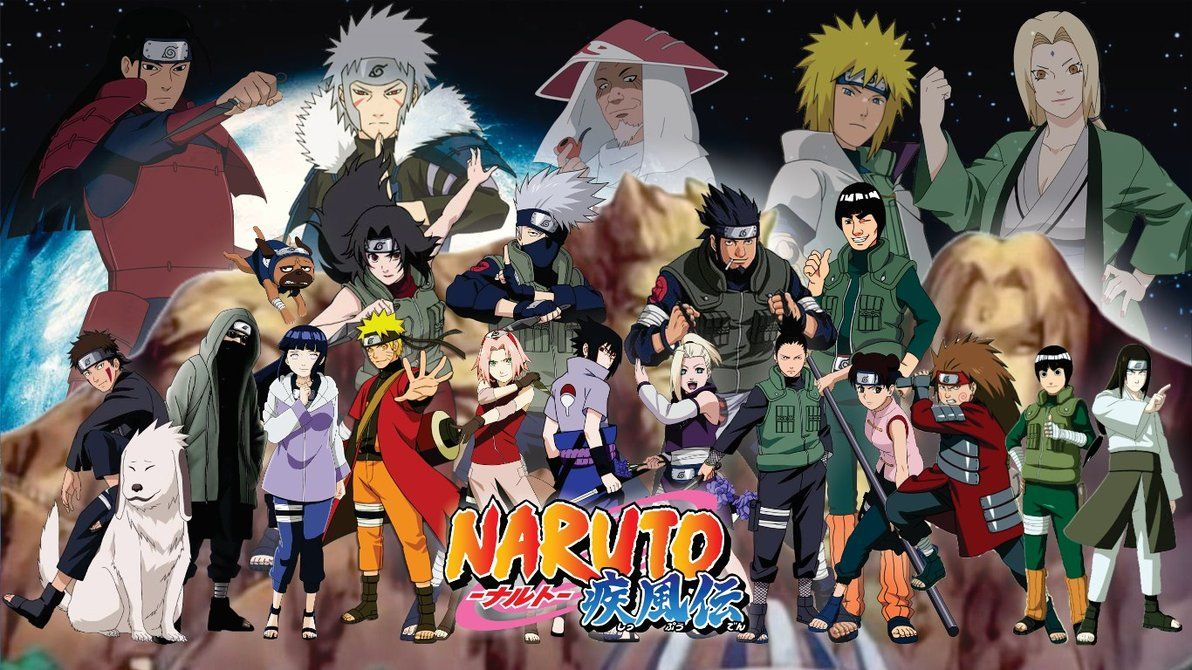 Naruto Shippuden All Characters Wallpapers Top Free Naruto